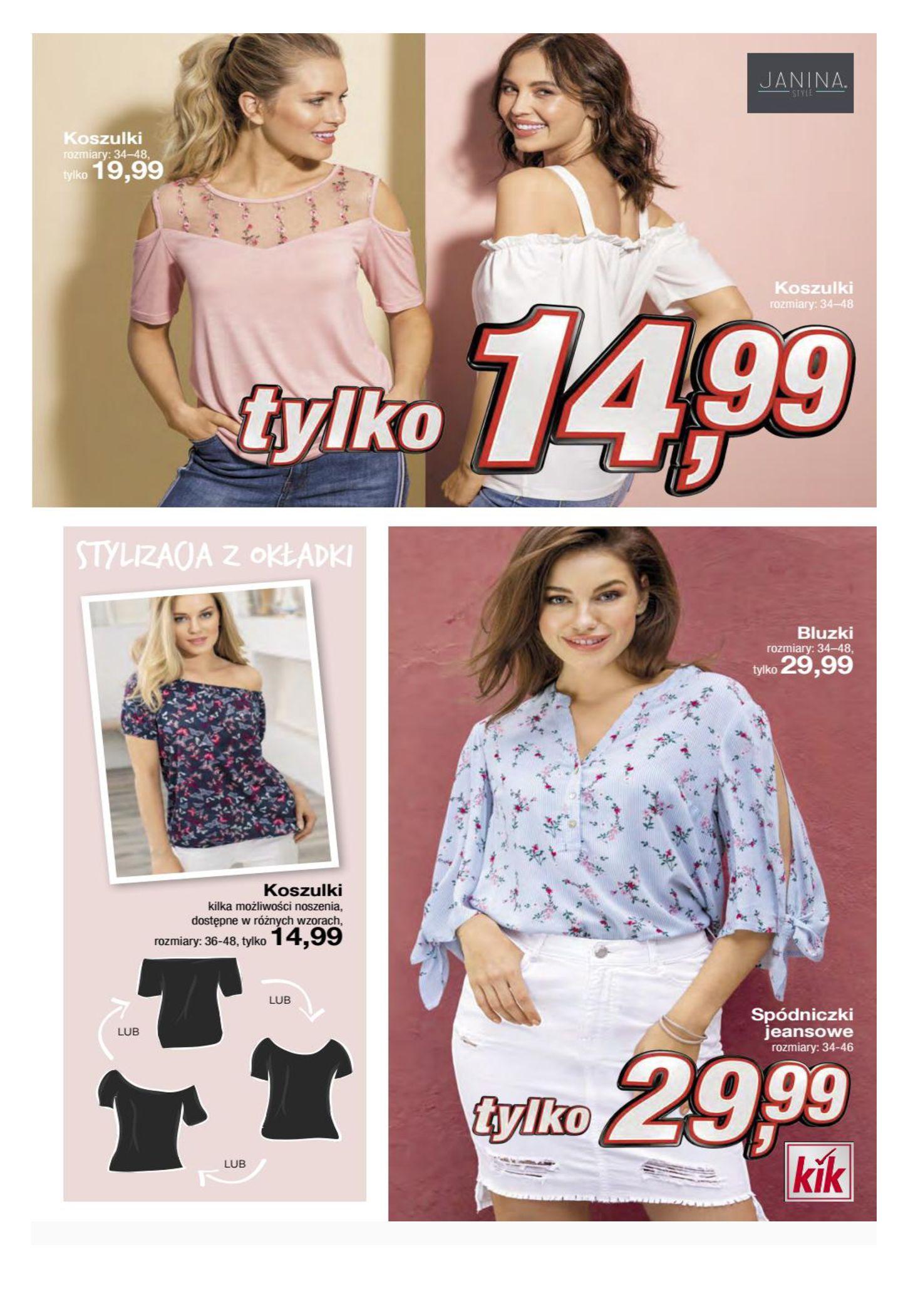 Gazetka KiK - Oferta na odzież-16.04.2019-17.05.2019-page-