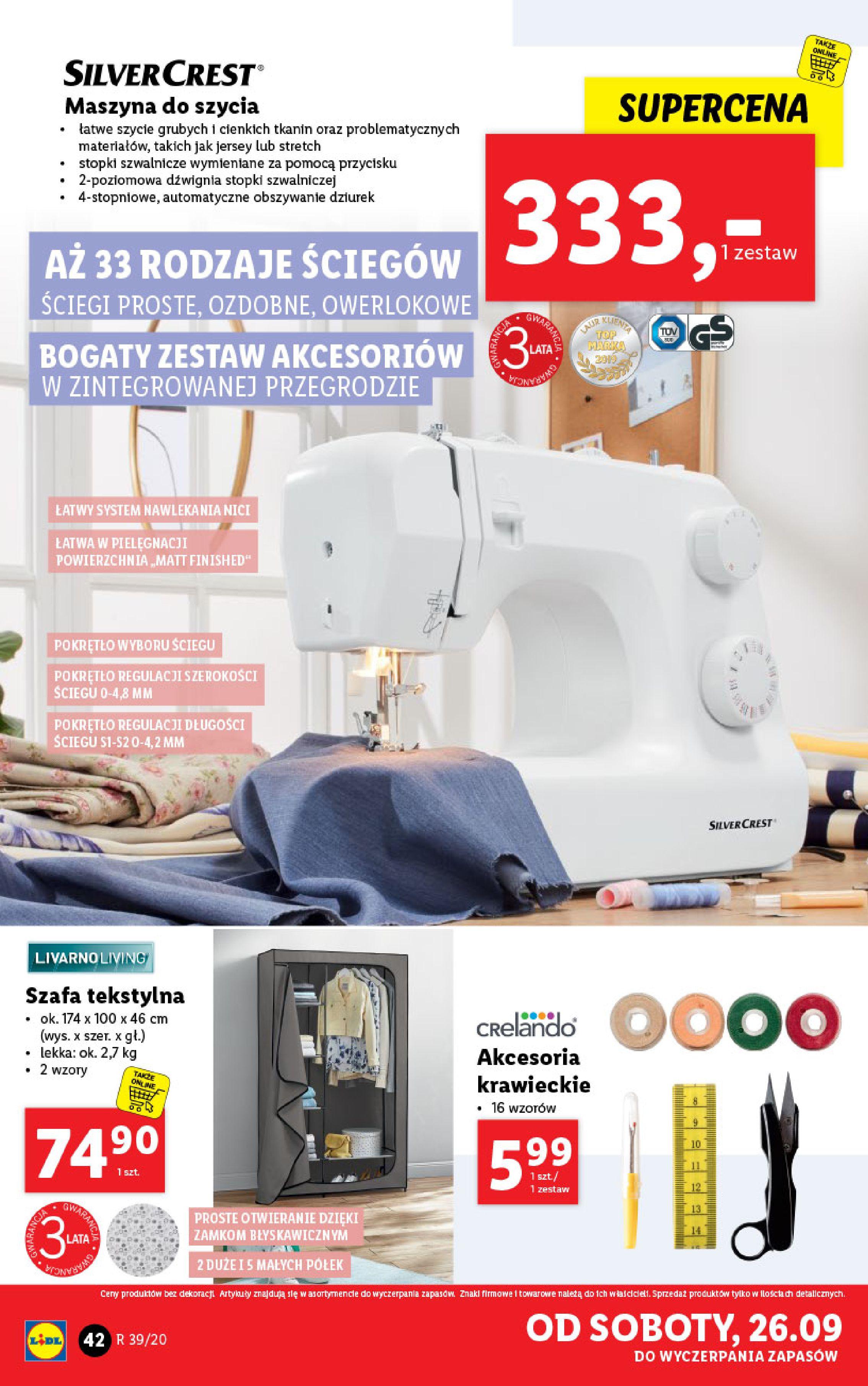 Gazetka Lidl - Katalog od 21.09-20.09.2020-26.09.2020-page-42