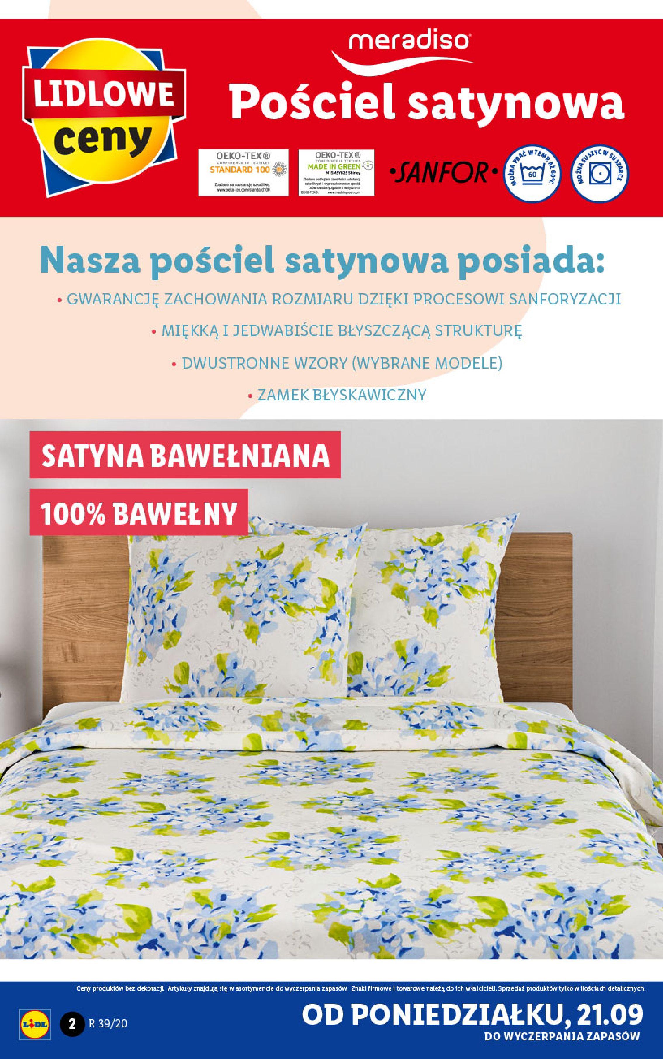 Gazetka Lidl - Katalog od 21.09-20.09.2020-26.09.2020-page-2