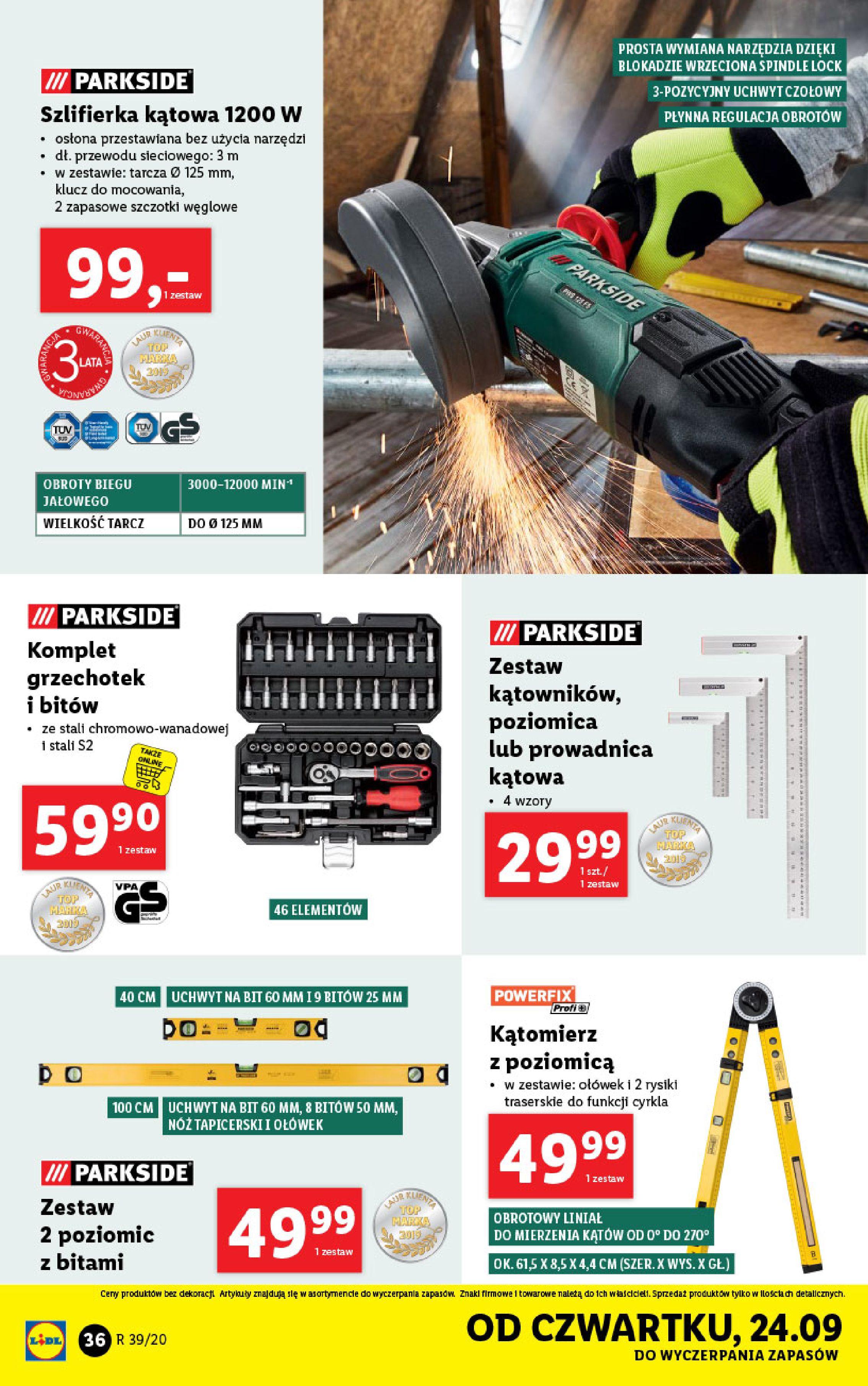 Gazetka Lidl - Katalog od 21.09-20.09.2020-26.09.2020-page-36