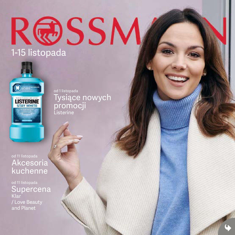 Gazetka Rossmann - Oferta promocyjna-31.10.2019-15.11.2019-page-1