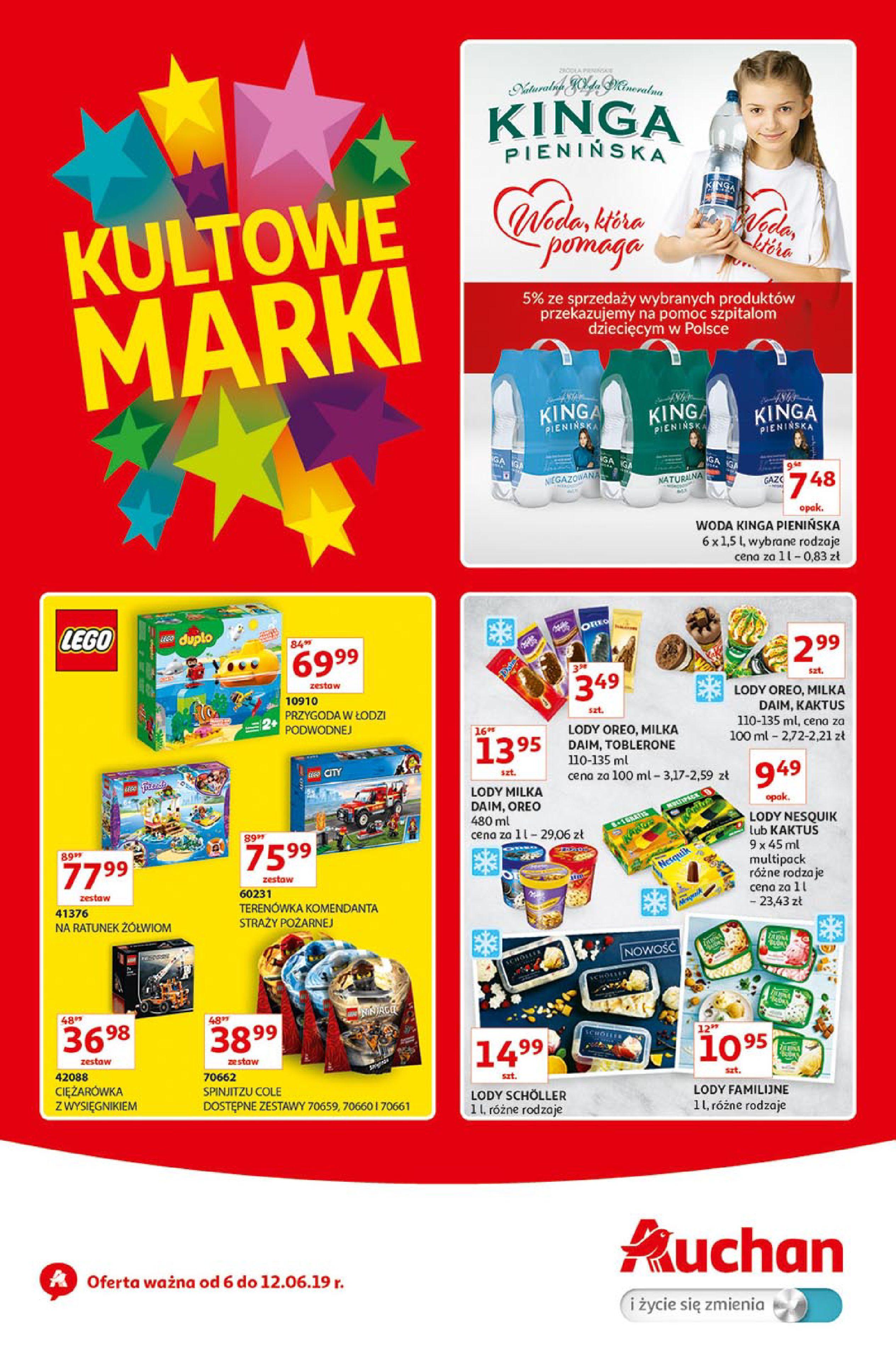 Gazetka Auchan - Kultowe Marki Hipermarkety-05.06.2019-12.06.2019-page-