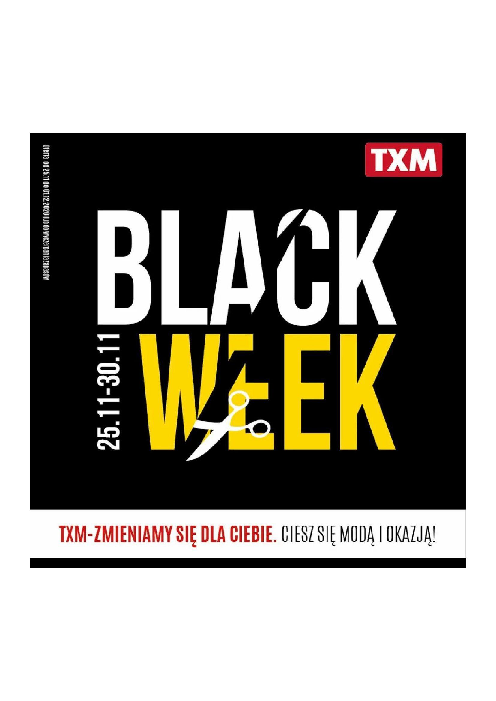 TXM textilmarket:  BLACK WEEK 24.11.2020