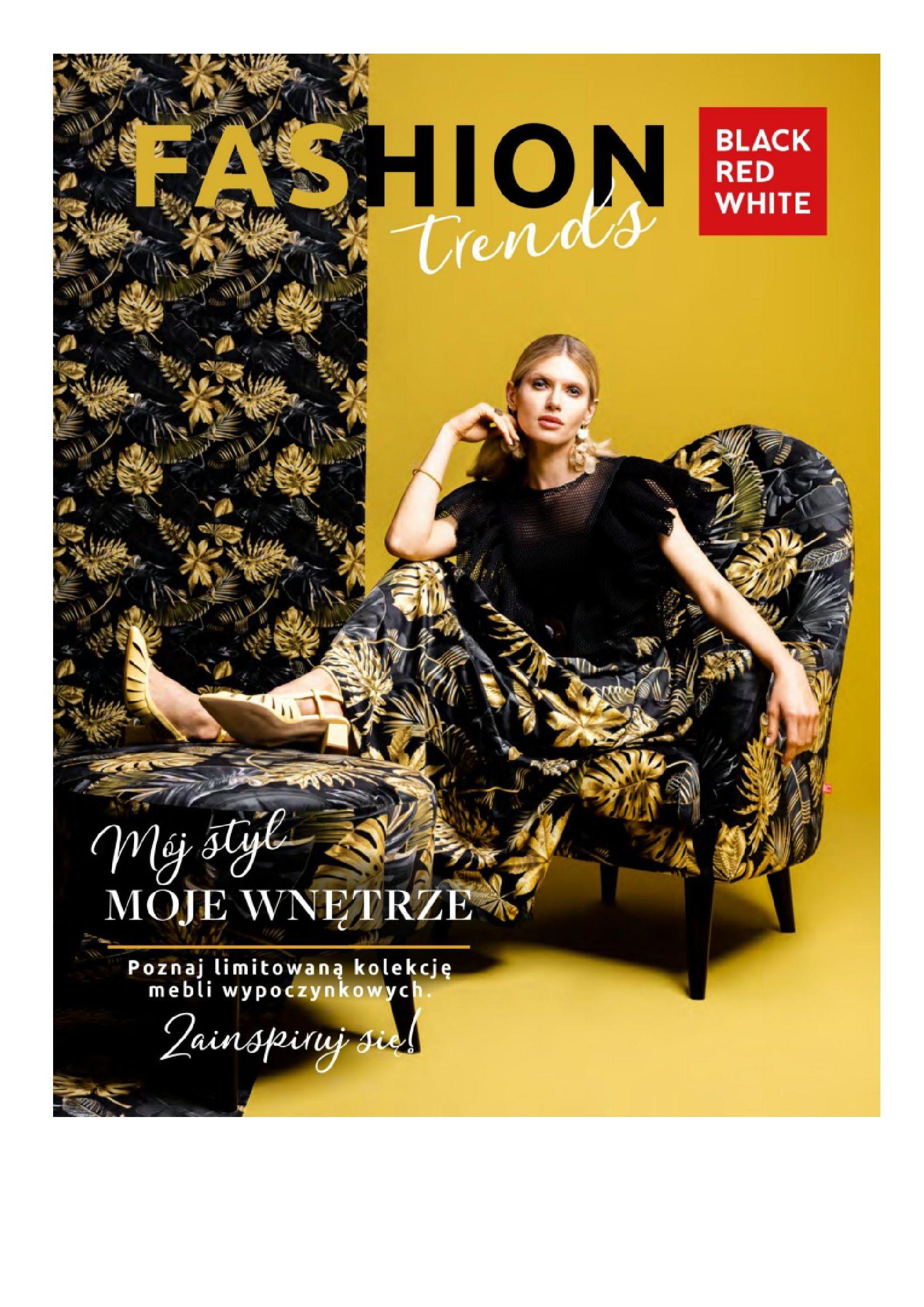 Gazetka Black Red White: Katalog Black Red White - Fashion trends 2021-09-15 page-1