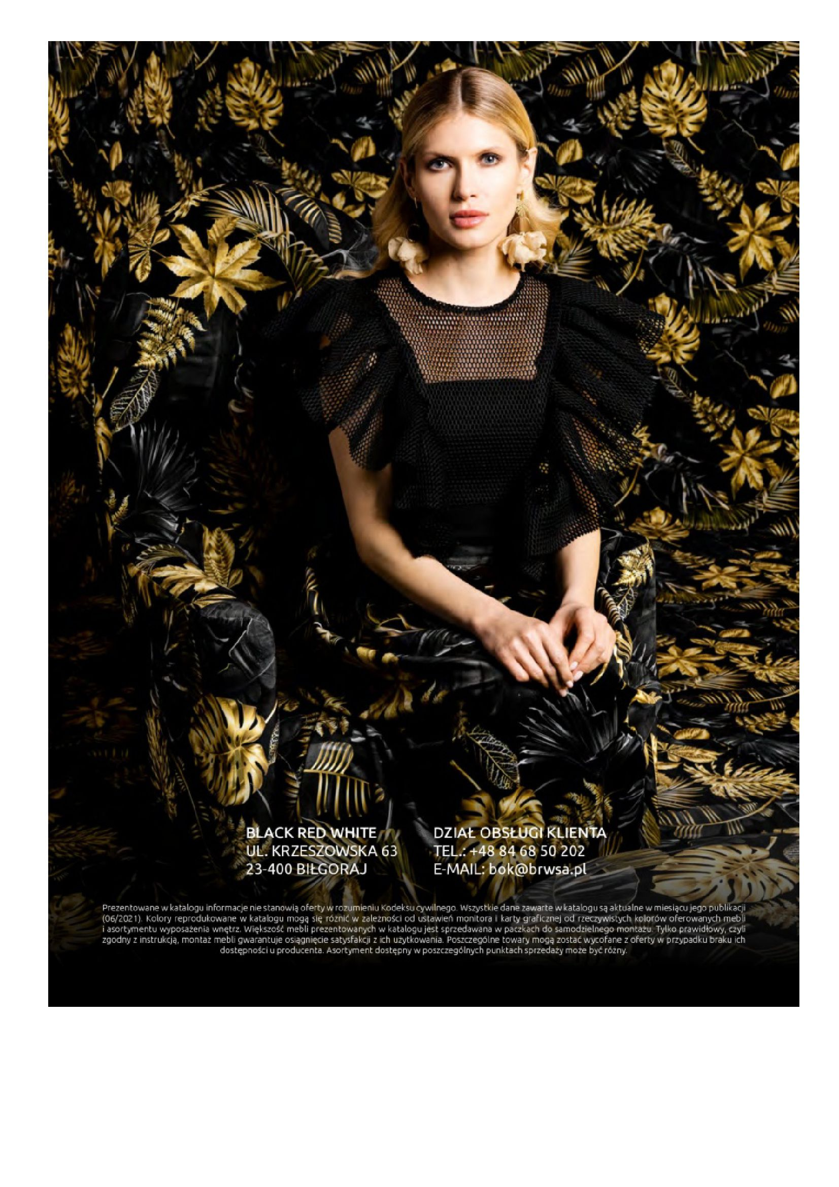 Gazetka Black Red White: Katalog Black Red White - Fashion trends 2021-09-15 page-38