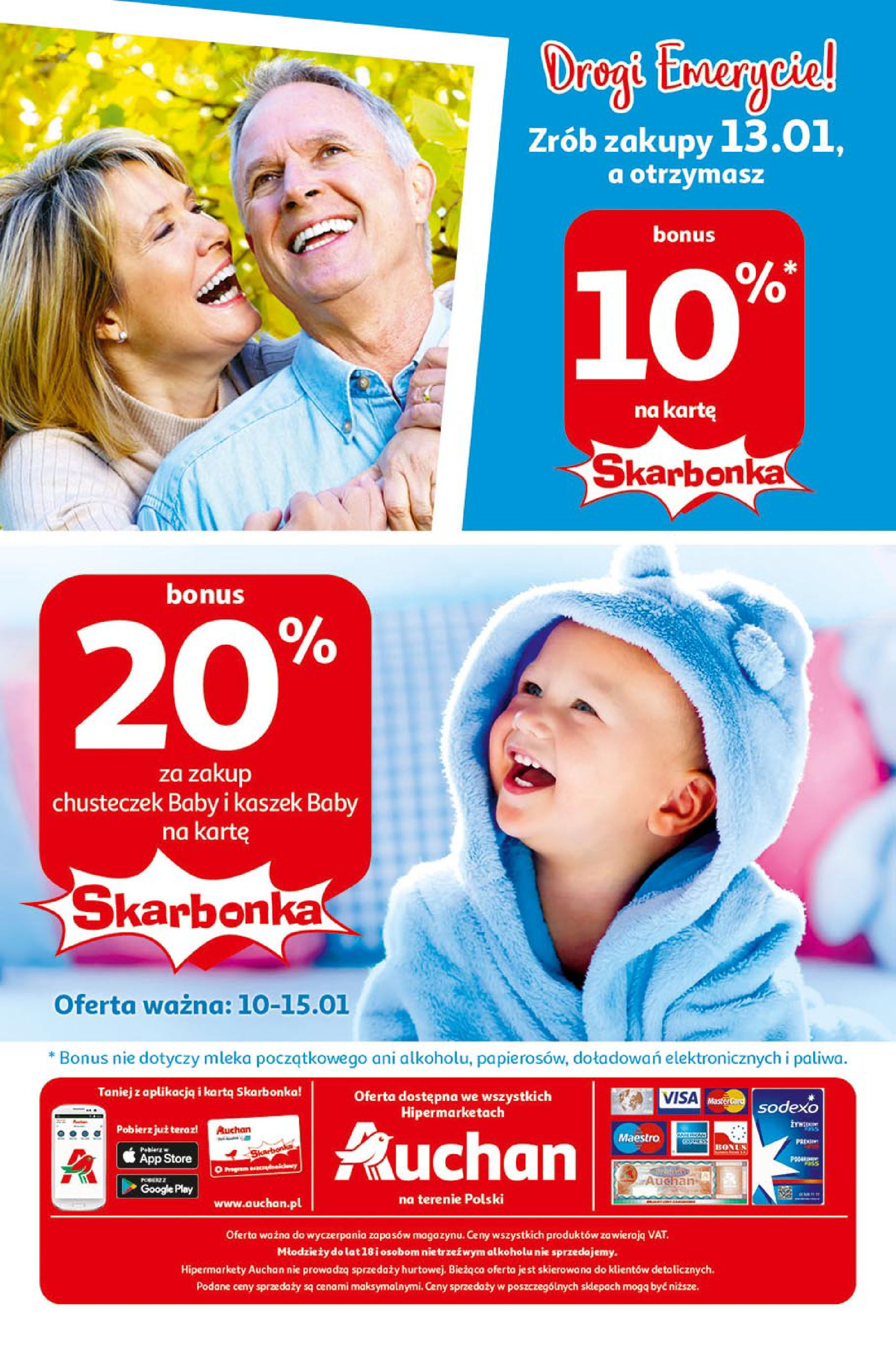 Gazetka Auchan - Super Oferty Hipermarkety-09.01.2020-15.01.2020-page-14