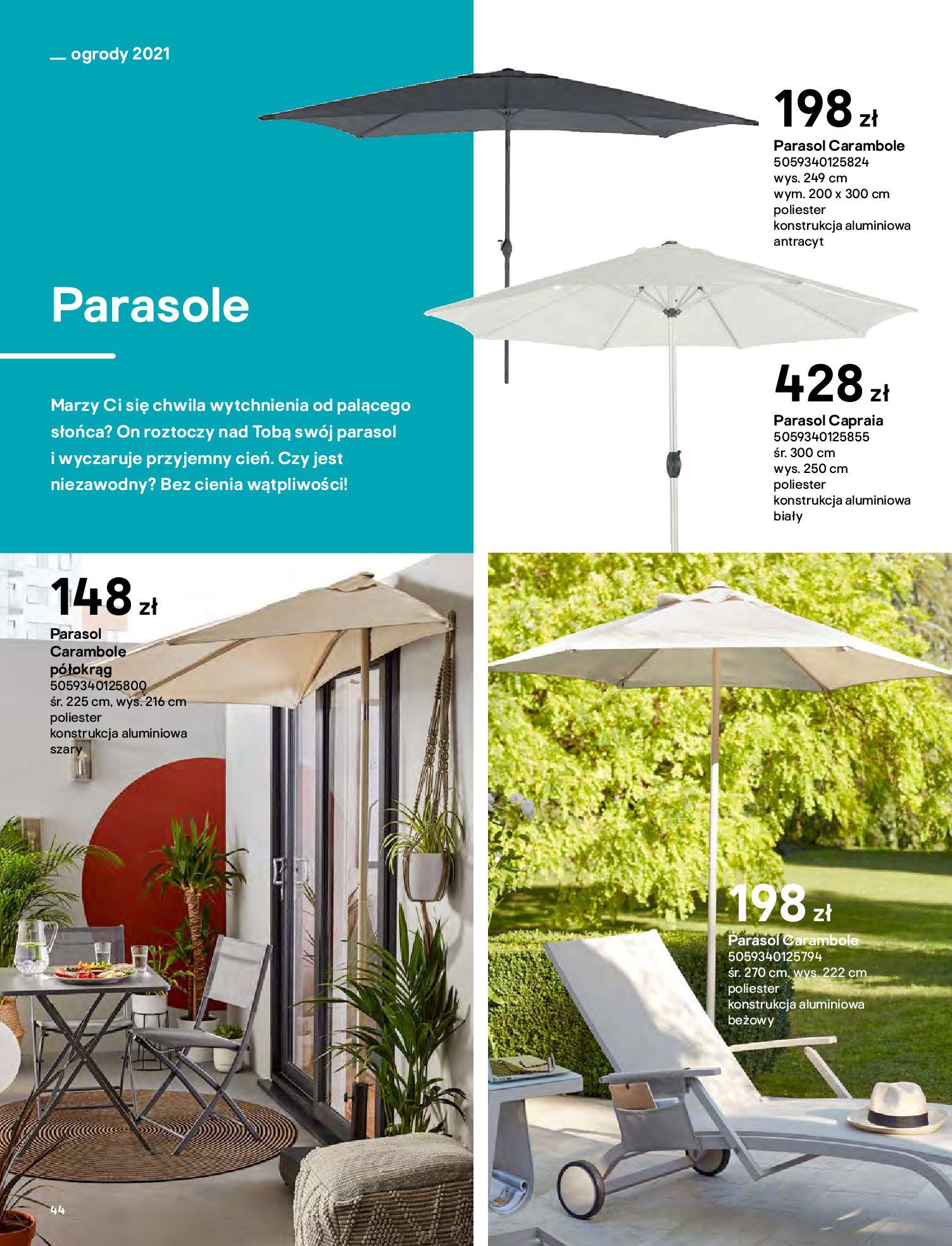 Gazetka Castorama: Katalog ogrody 2021-03-01 page-44
