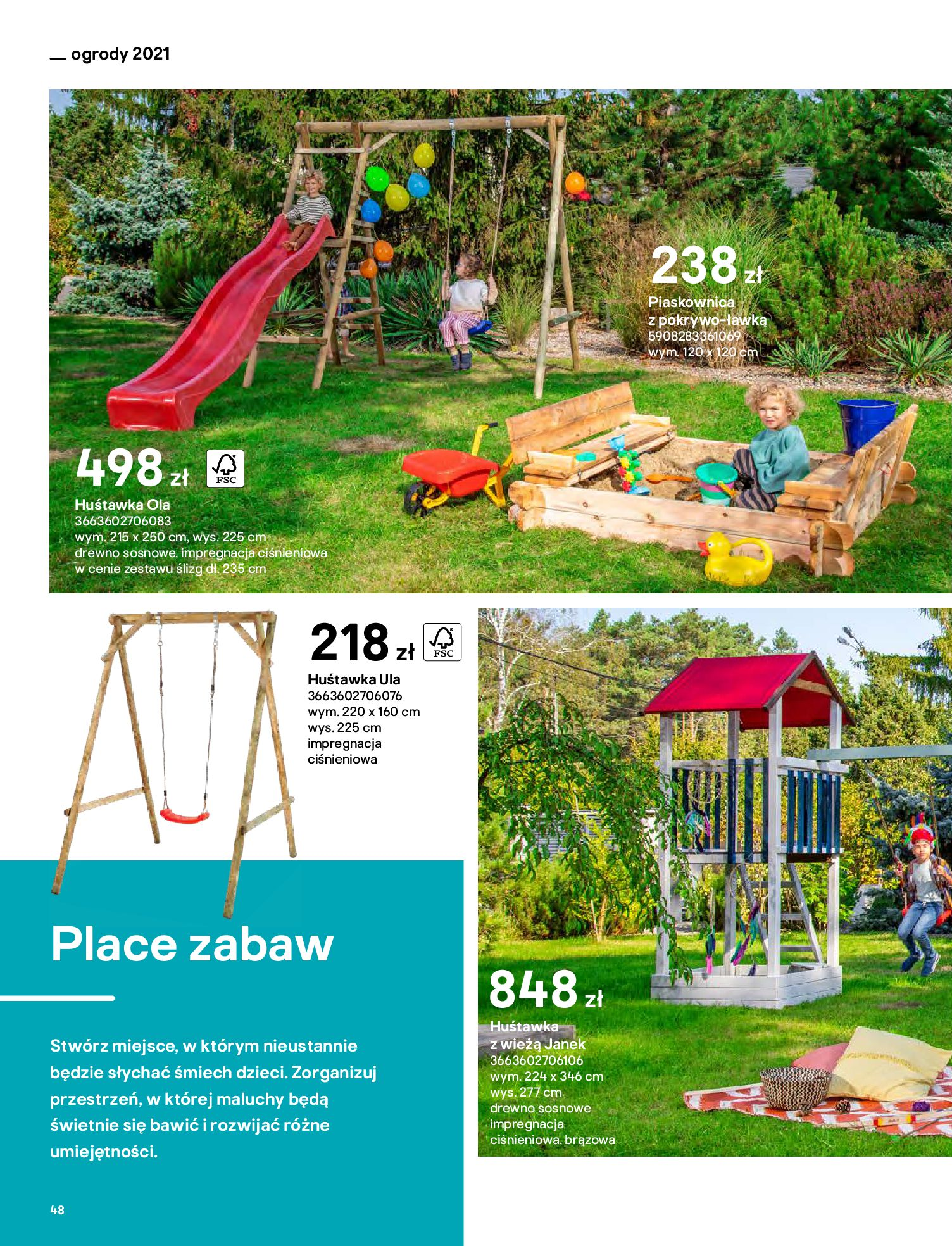 Gazetka Castorama: Katalog ogrody 2021-03-01 page-48