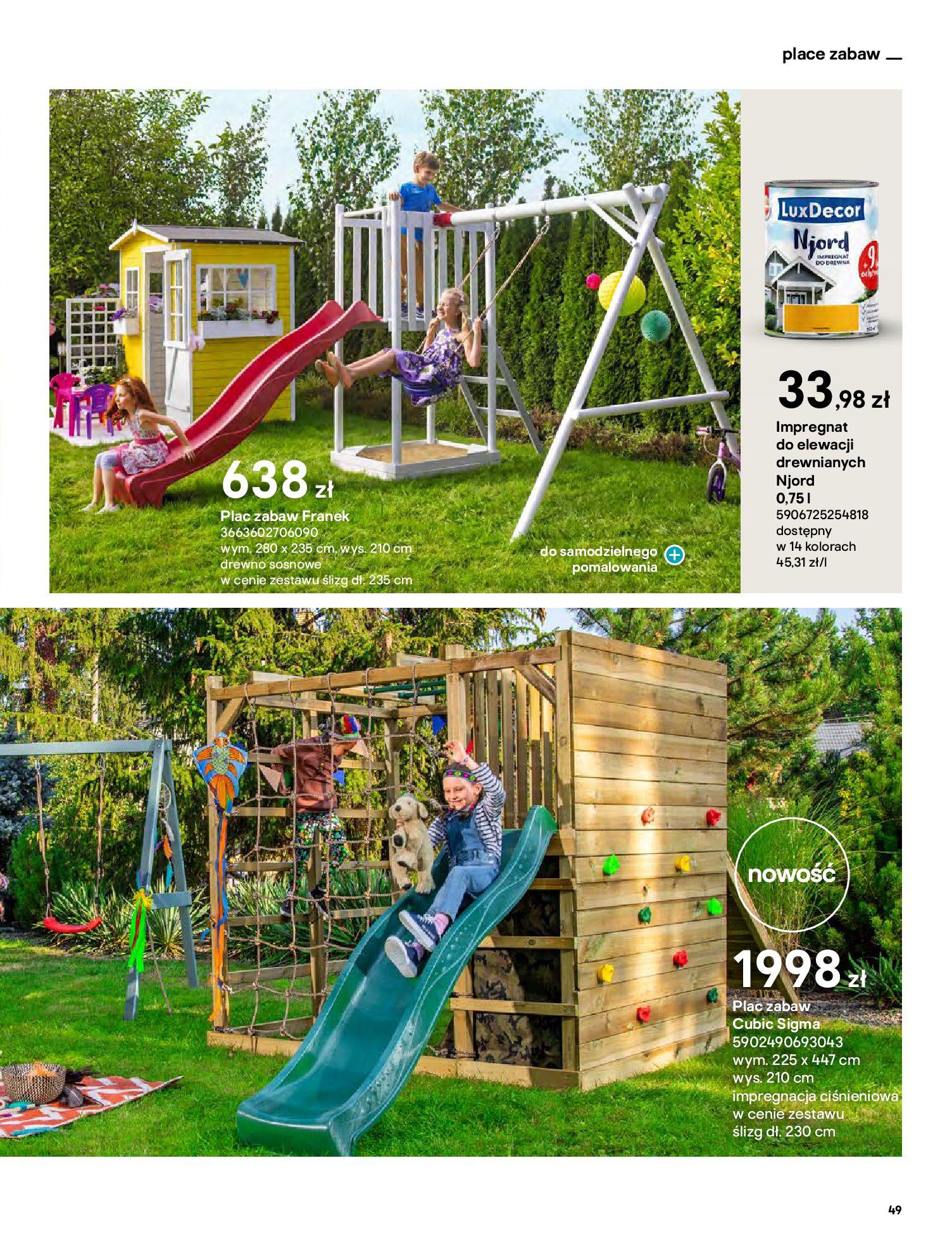 Gazetka Castorama: Katalog ogrody 2021-03-01 page-49