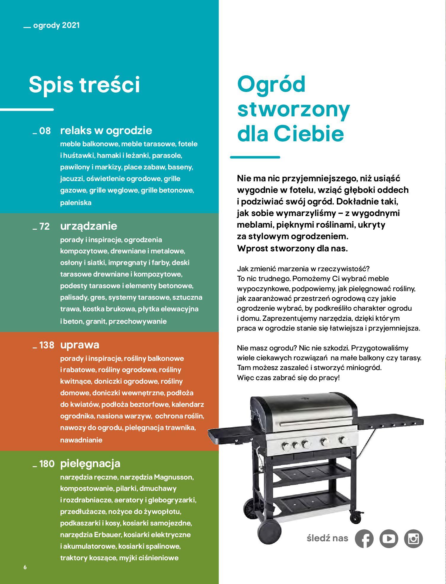 Gazetka Castorama: Katalog ogrody 2021-03-01 page-6