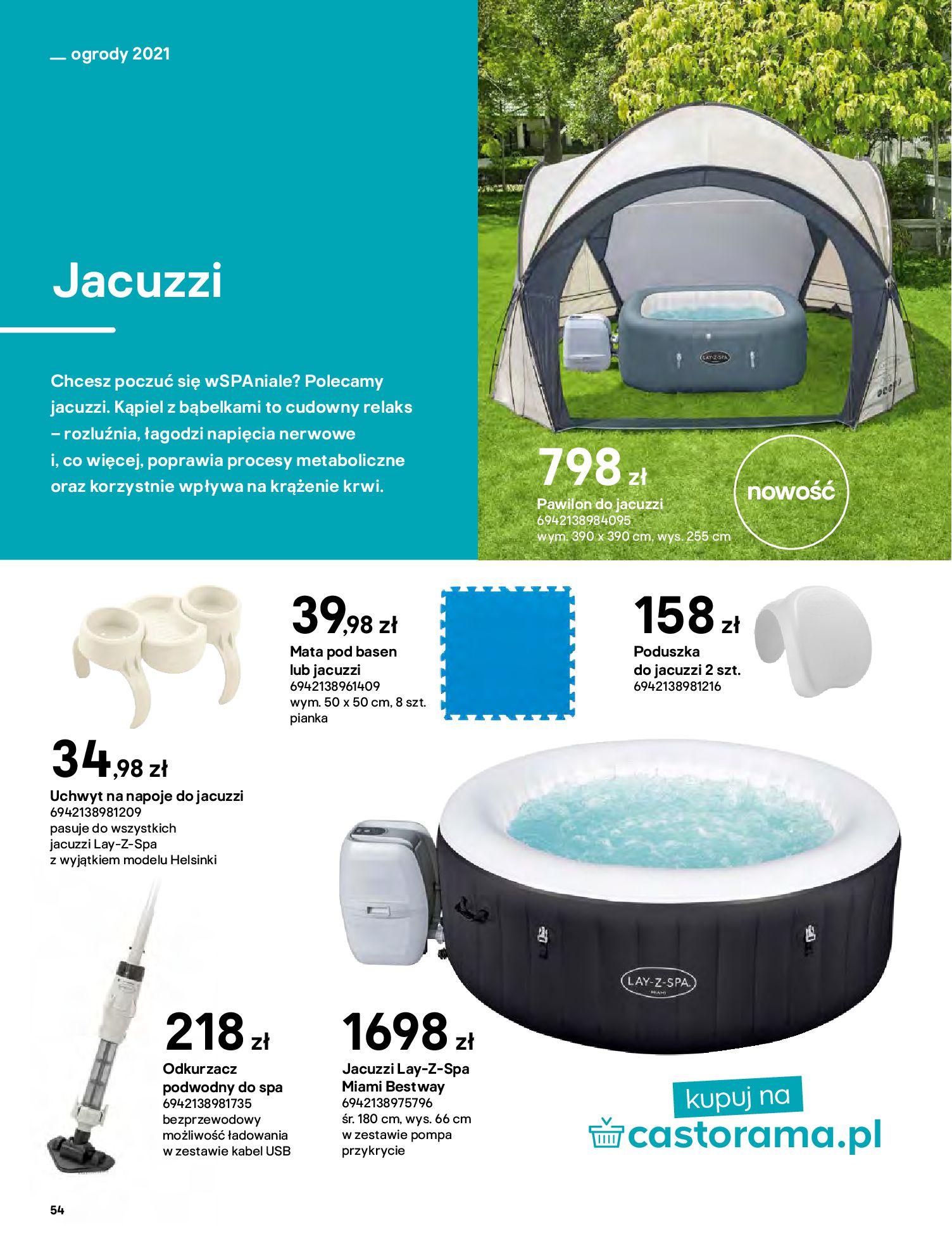 Gazetka Castorama: Katalog ogrody 2021-03-01 page-54