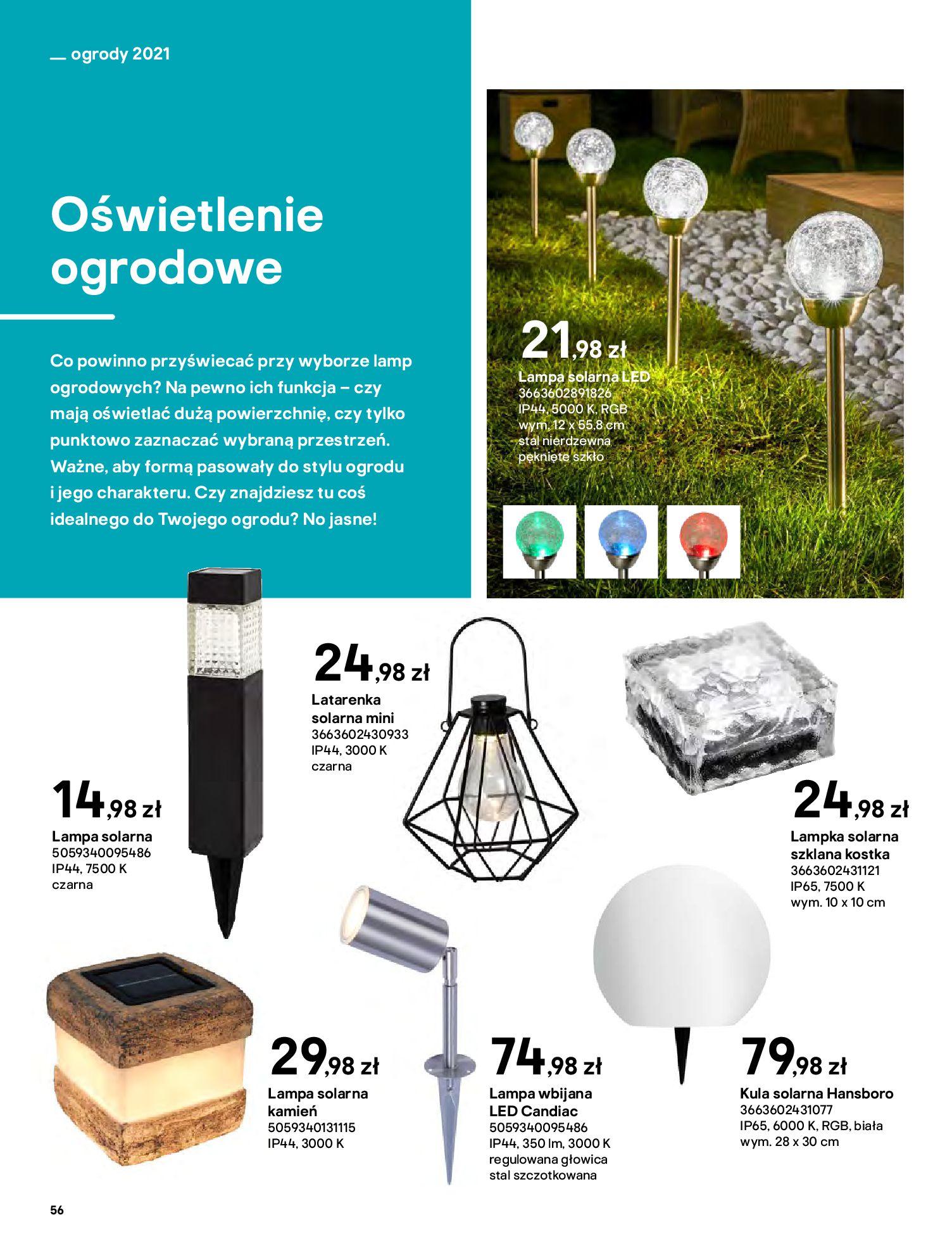 Gazetka Castorama: Katalog ogrody 2021-03-01 page-56