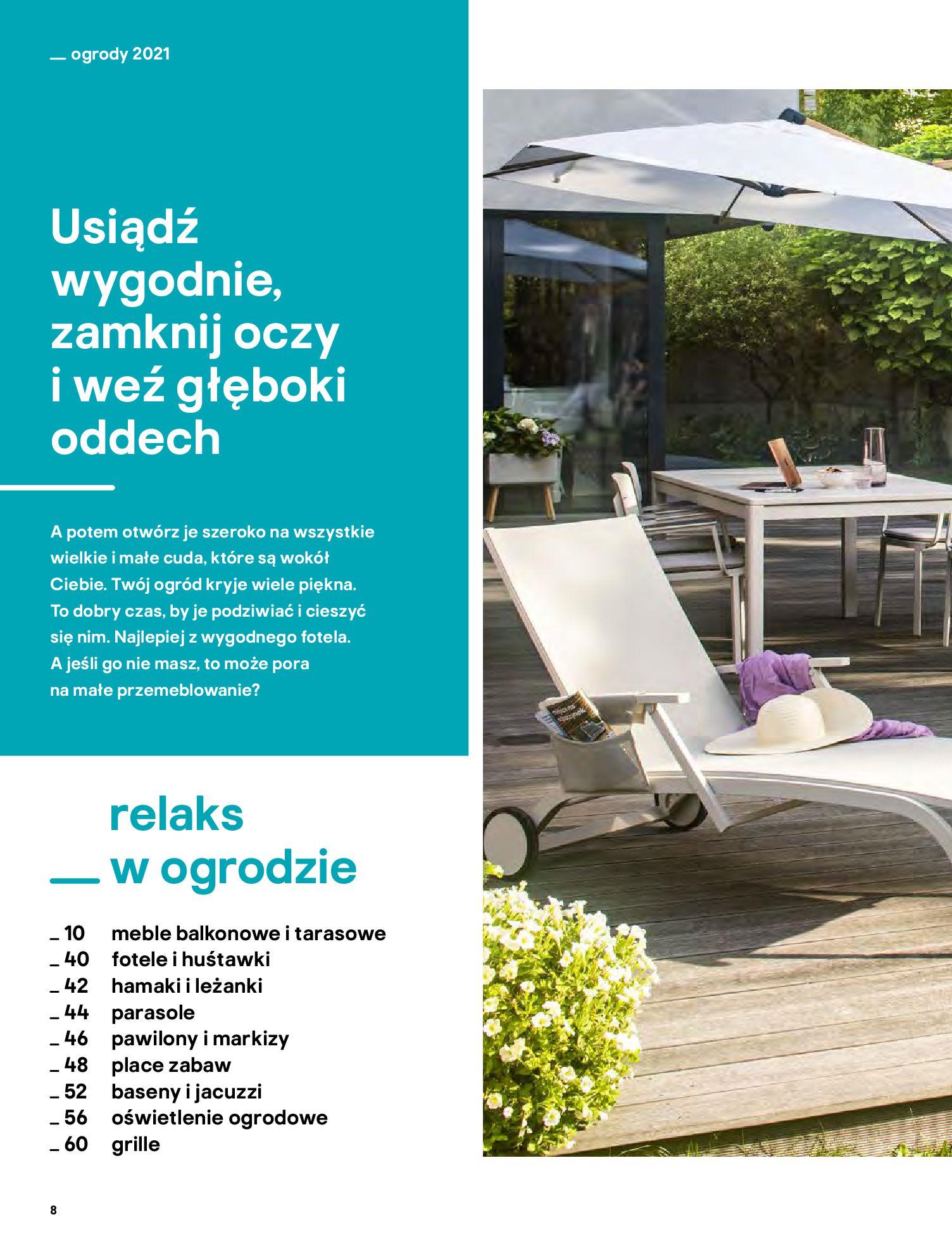Gazetka Castorama: Katalog ogrody 2021-03-01 page-8