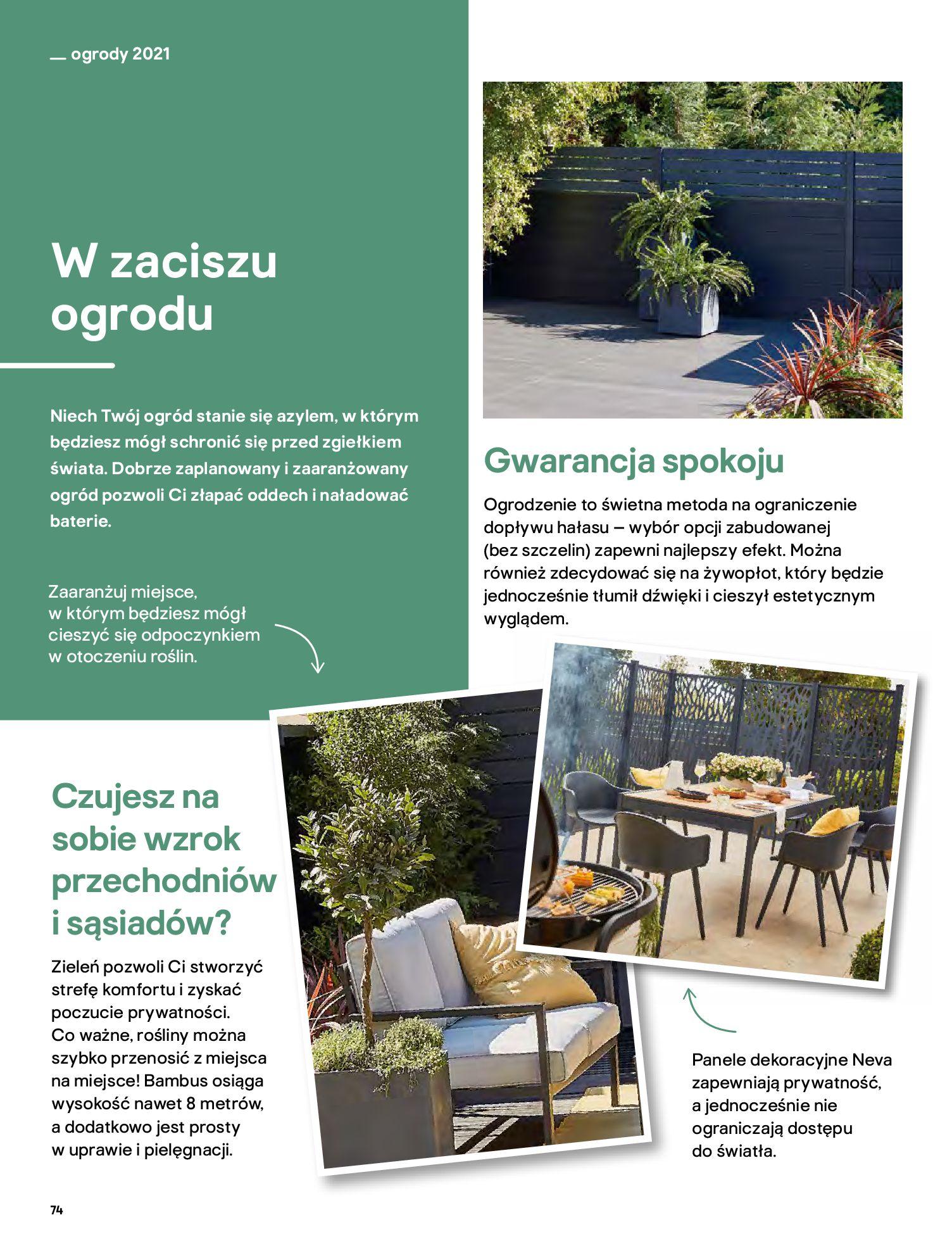 Gazetka Castorama: Katalog ogrody 2021-03-01 page-74