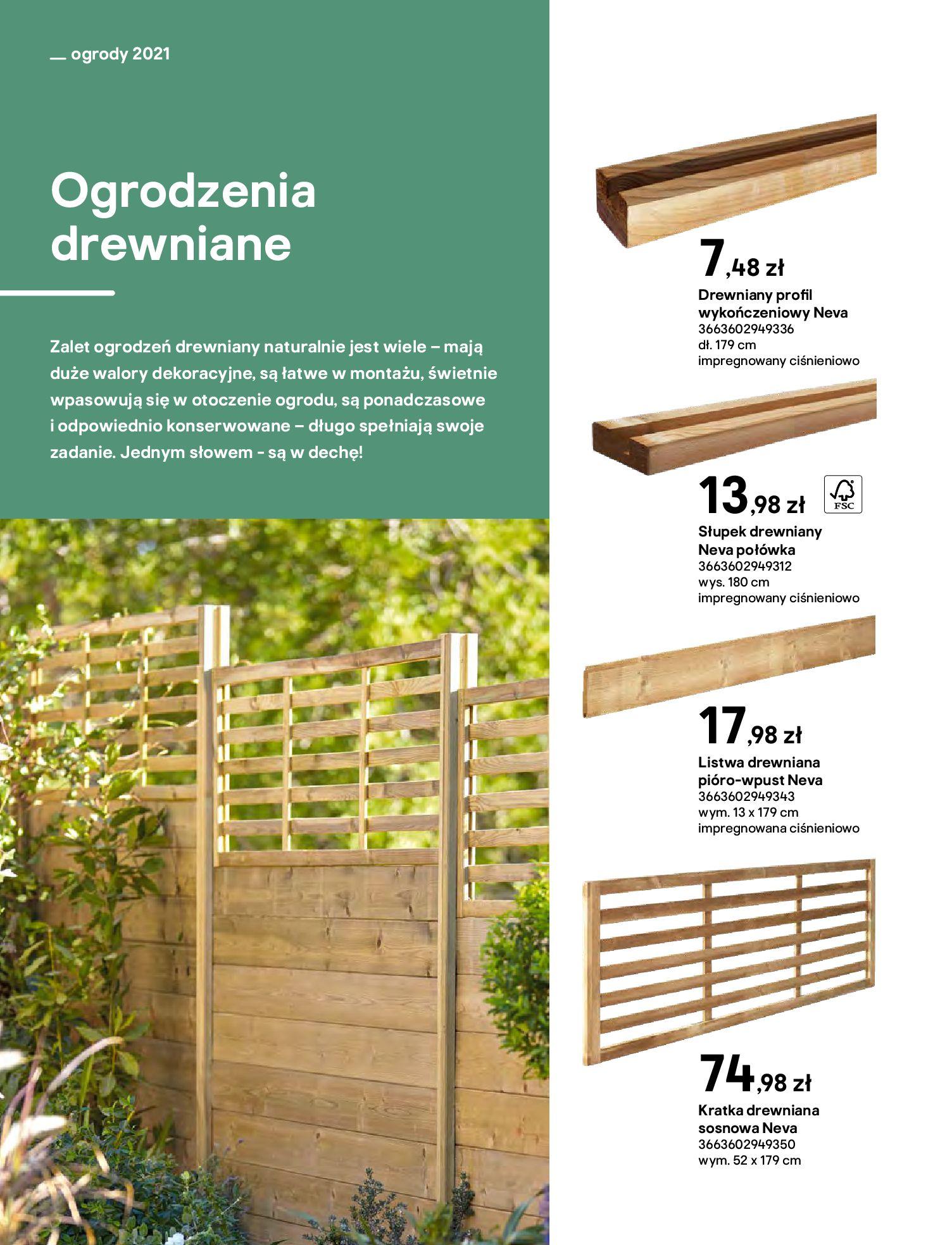 Gazetka Castorama: Katalog ogrody 2021-03-01 page-82