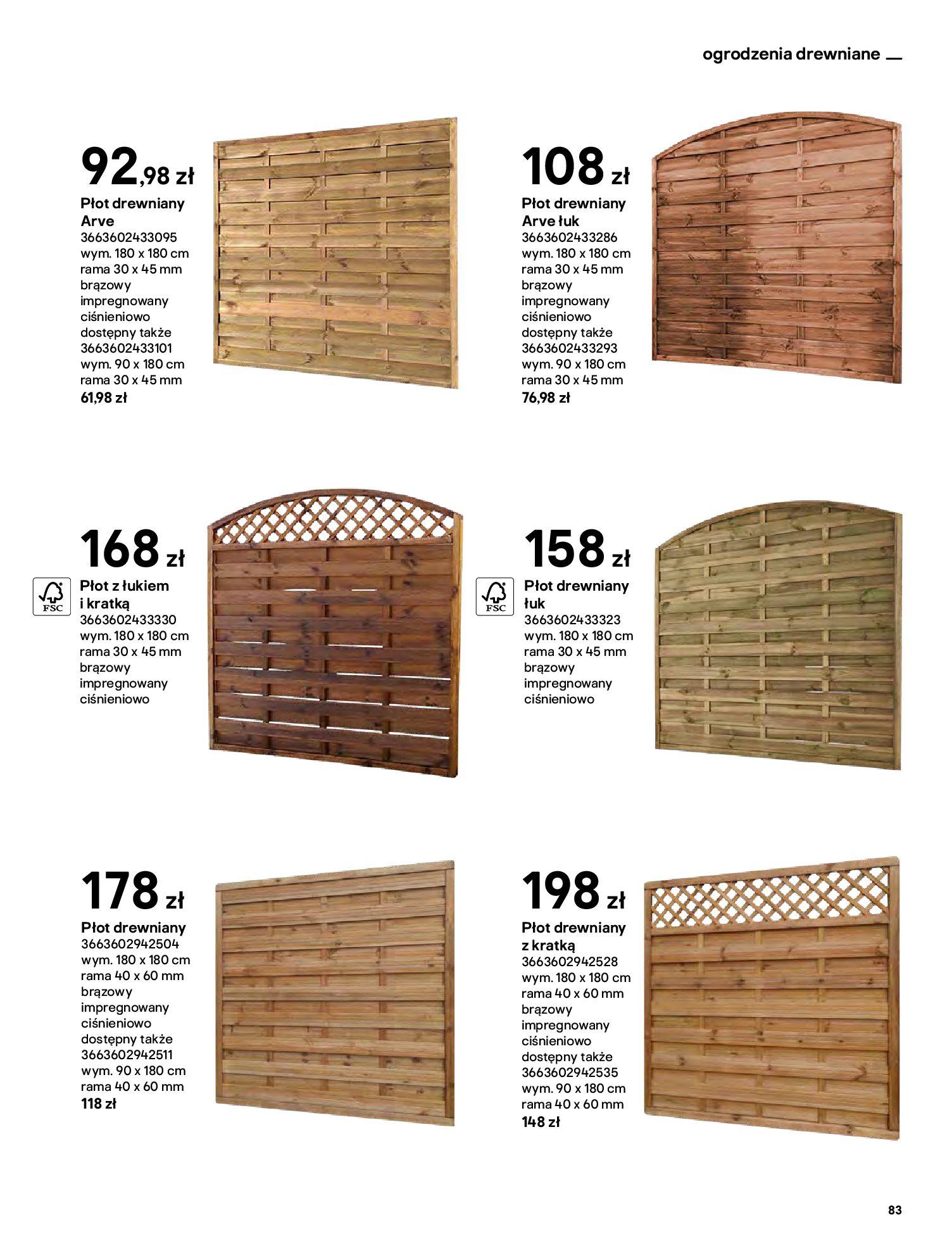 Gazetka Castorama: Katalog ogrody 2021-03-01 page-83