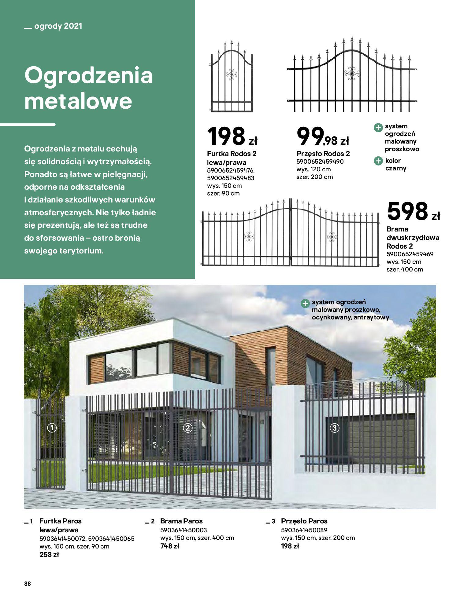 Gazetka Castorama: Katalog ogrody 2021-03-01 page-88