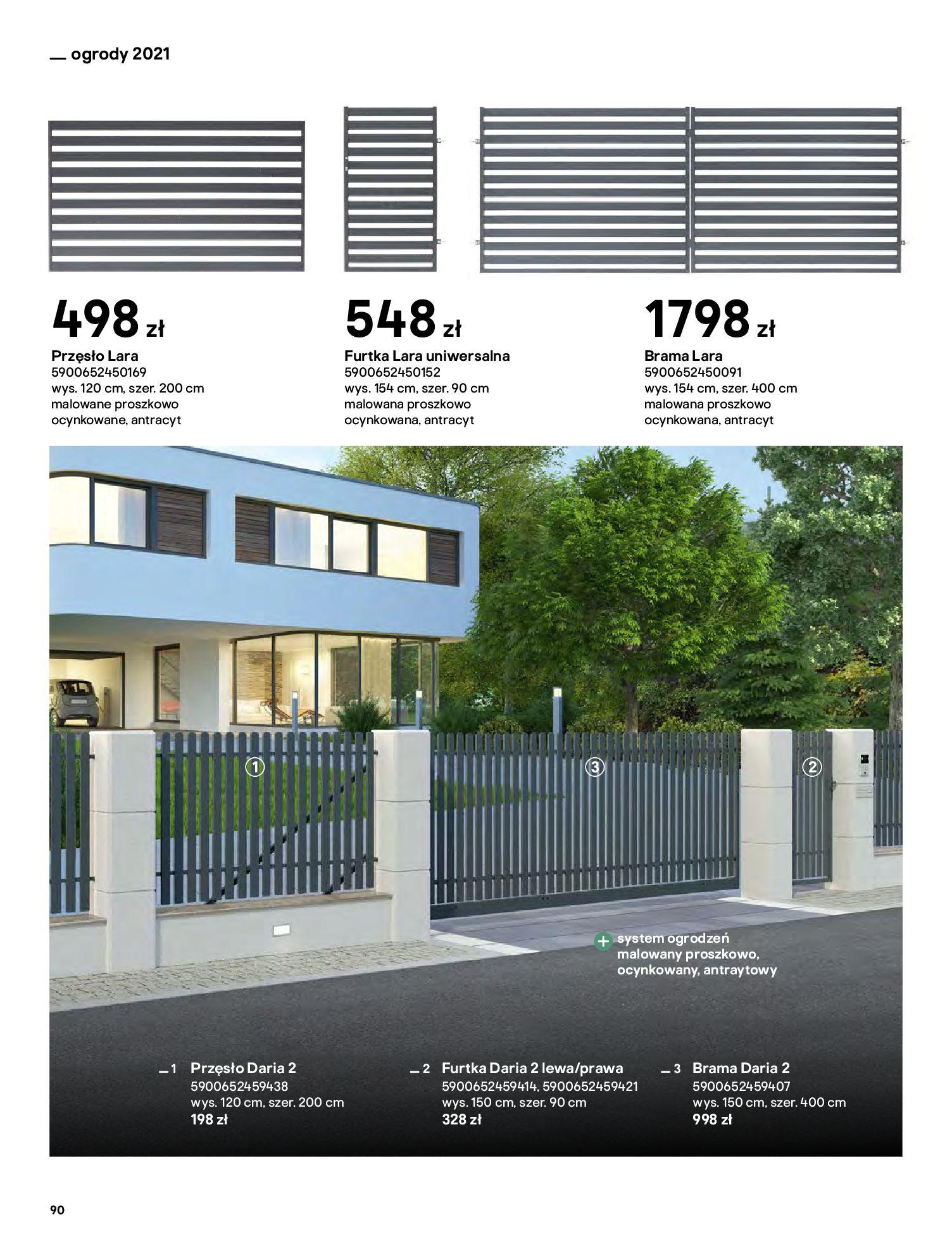 Gazetka Castorama: Katalog ogrody 2021-03-01 page-90
