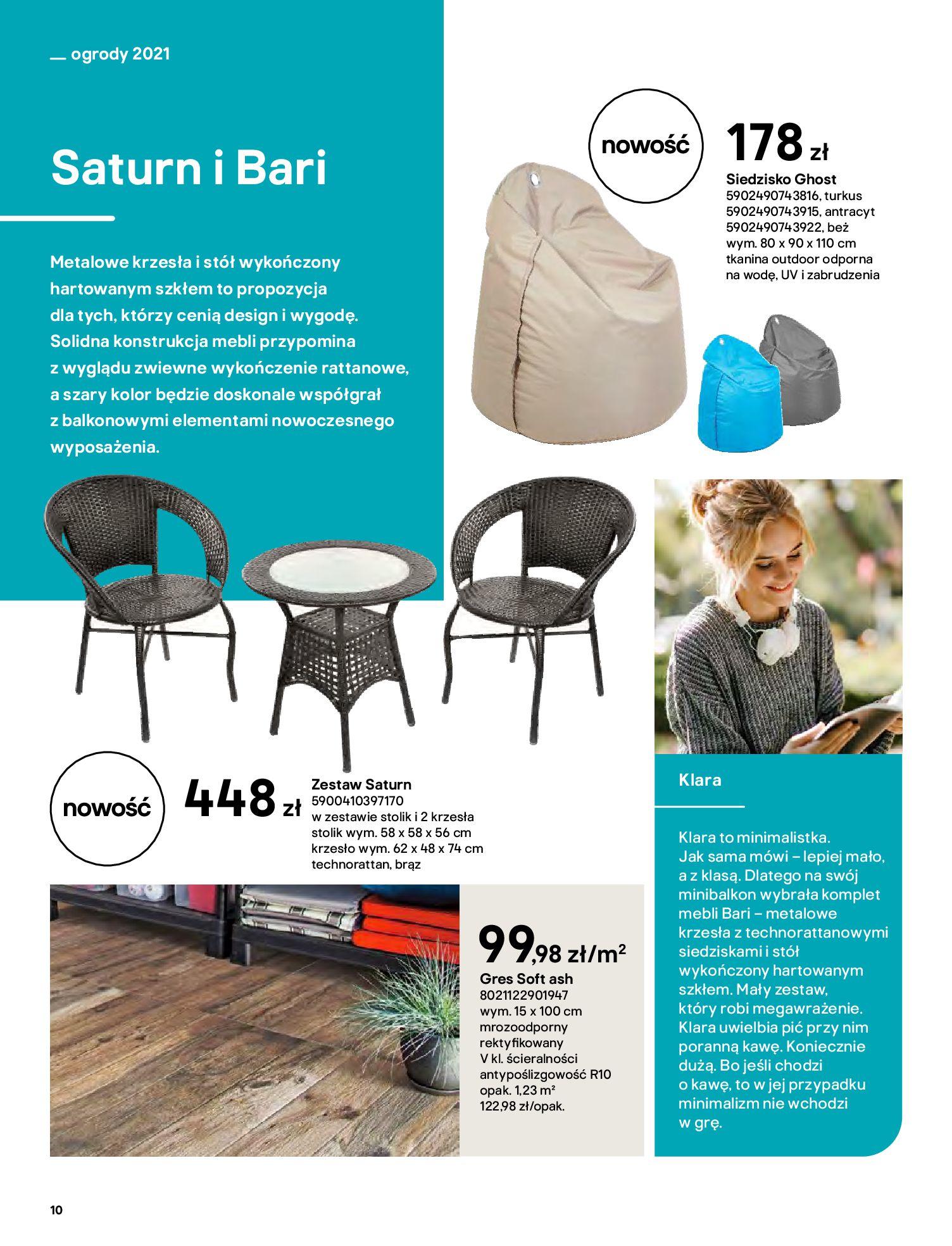 Gazetka Castorama: Katalog ogrody 2021-03-01 page-10