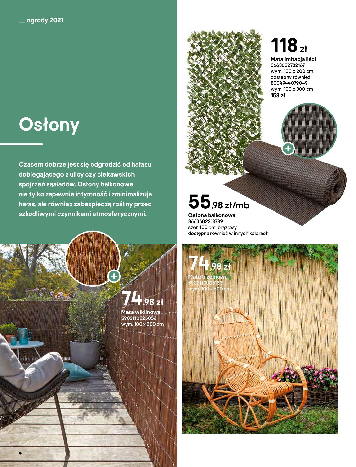 Gazetka Castorama: Katalog ogrody 2021-03-01 page-94