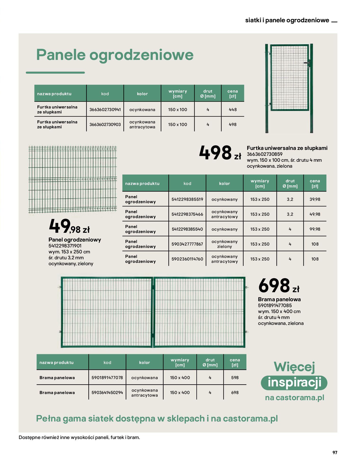 Gazetka Castorama: Katalog ogrody 2021-03-01 page-97