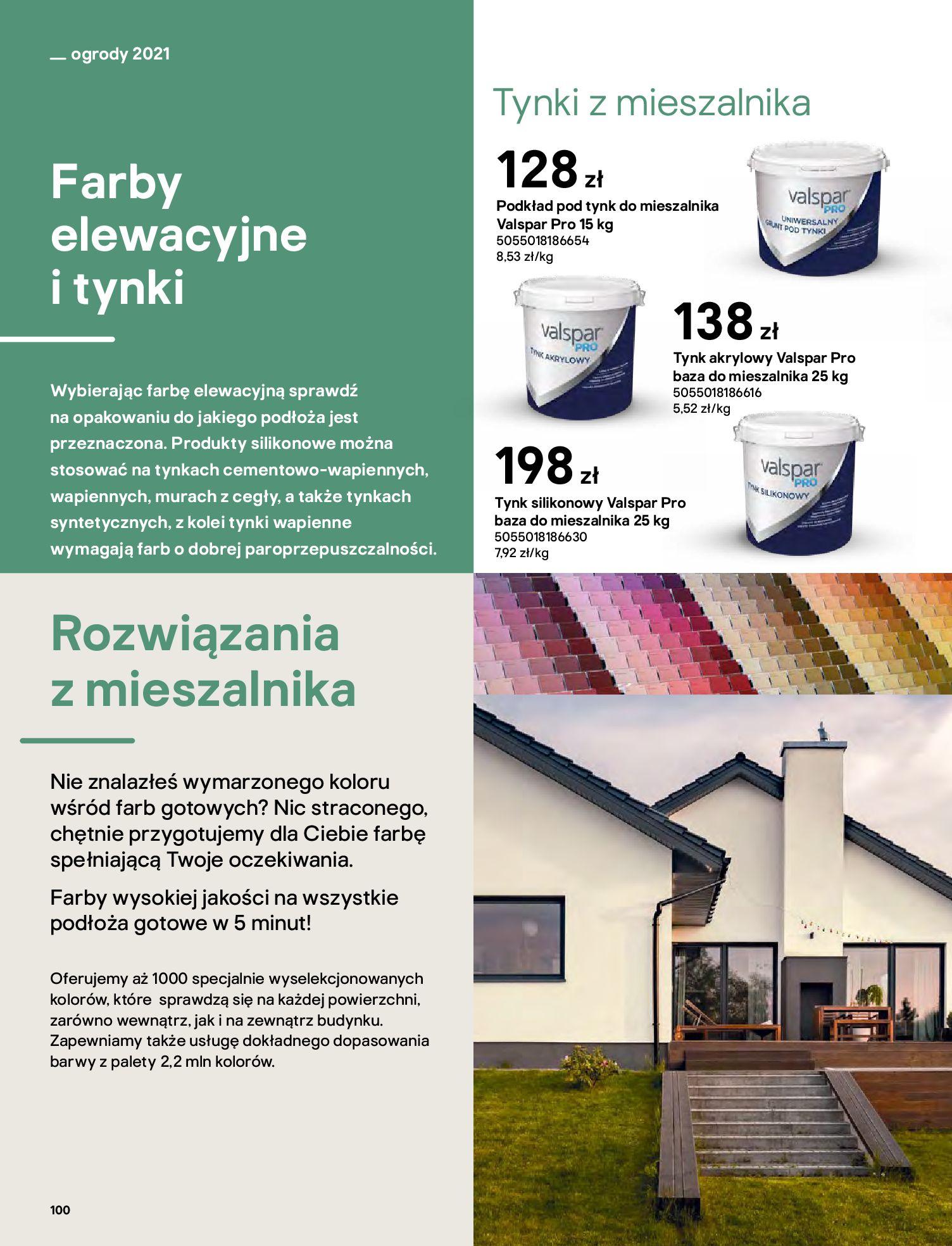 Gazetka Castorama: Katalog ogrody 2021-03-01 page-100