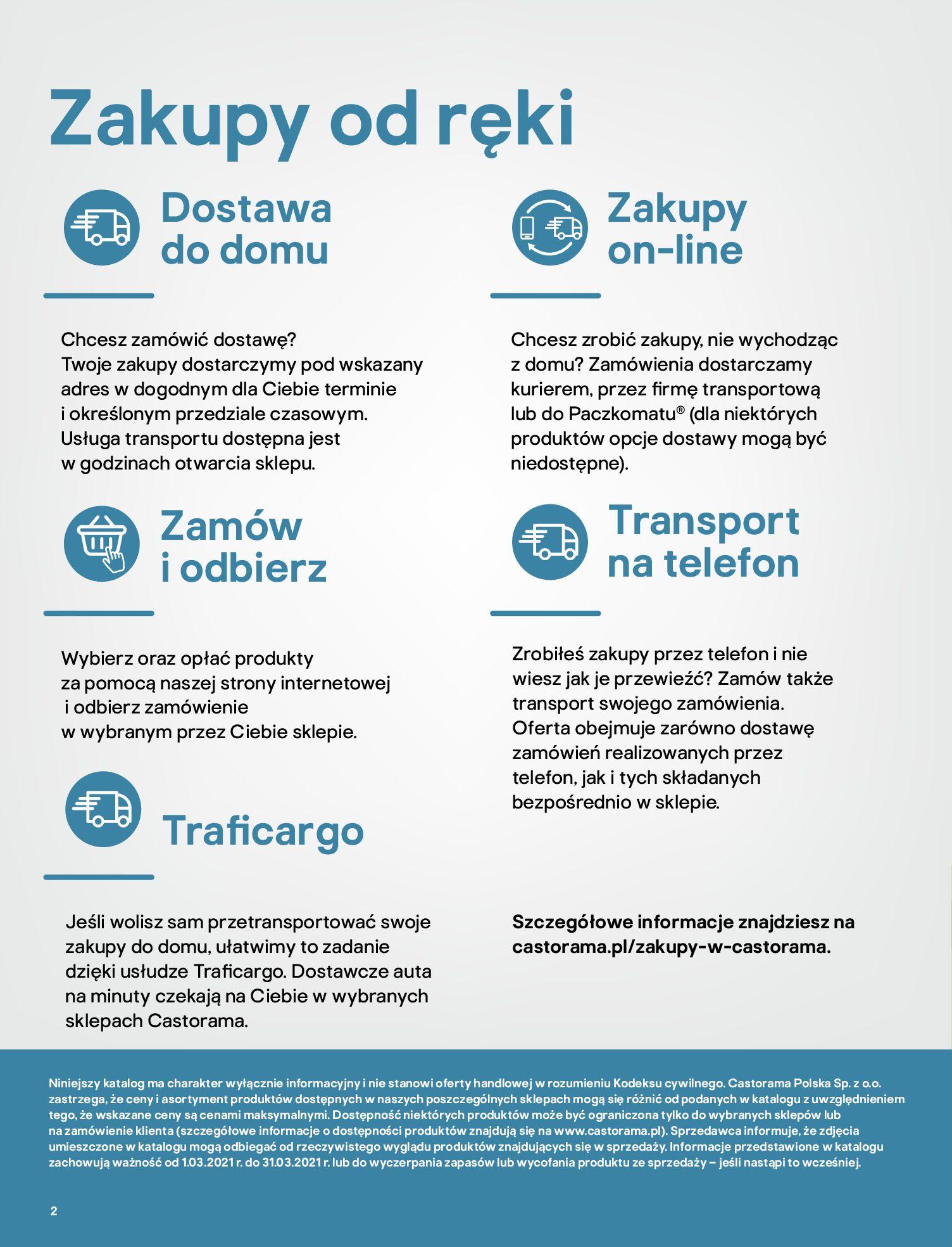 Gazetka Castorama: Katalog ogrody 2021-03-01 page-2