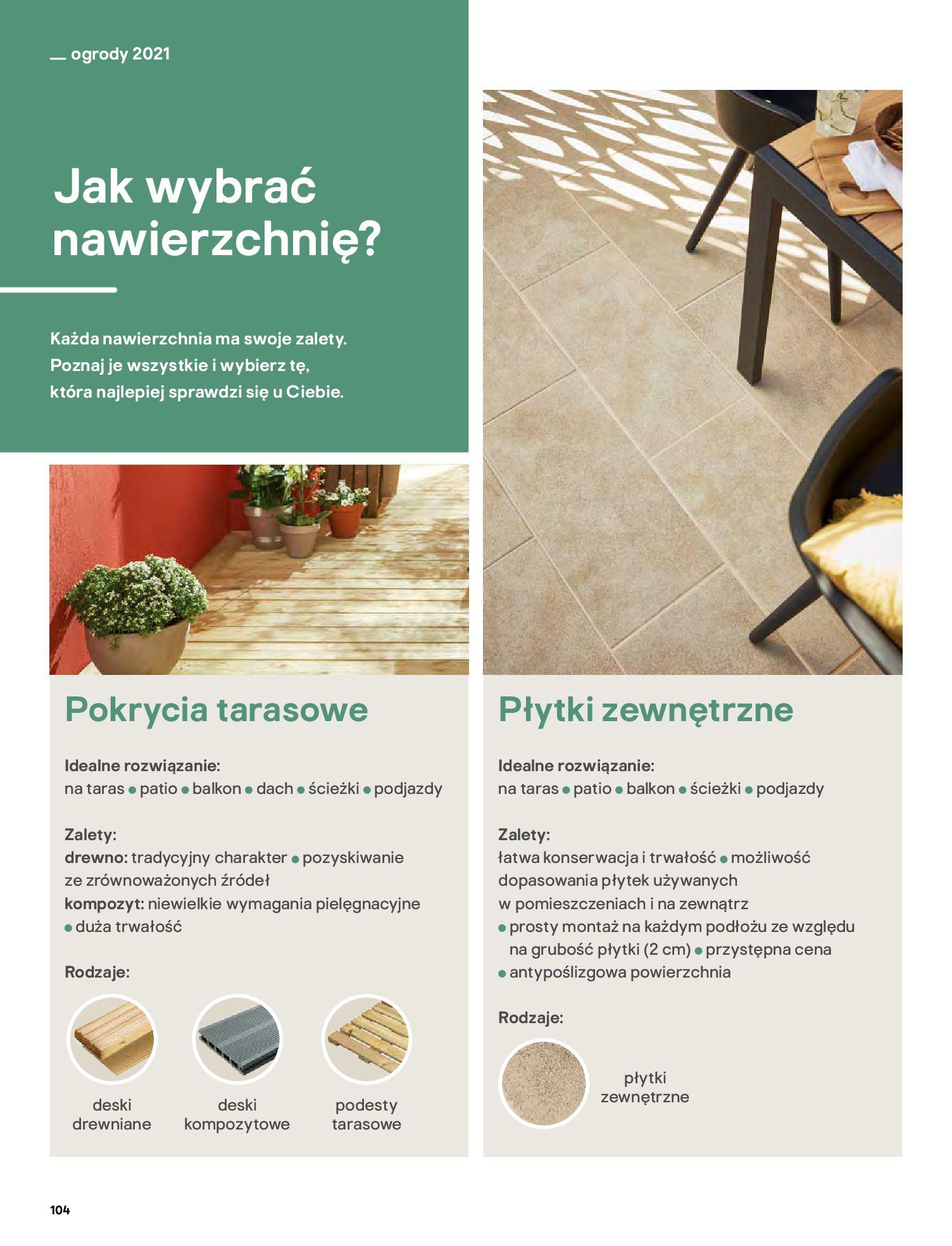 Gazetka Castorama: Katalog ogrody 2021-03-01 page-104