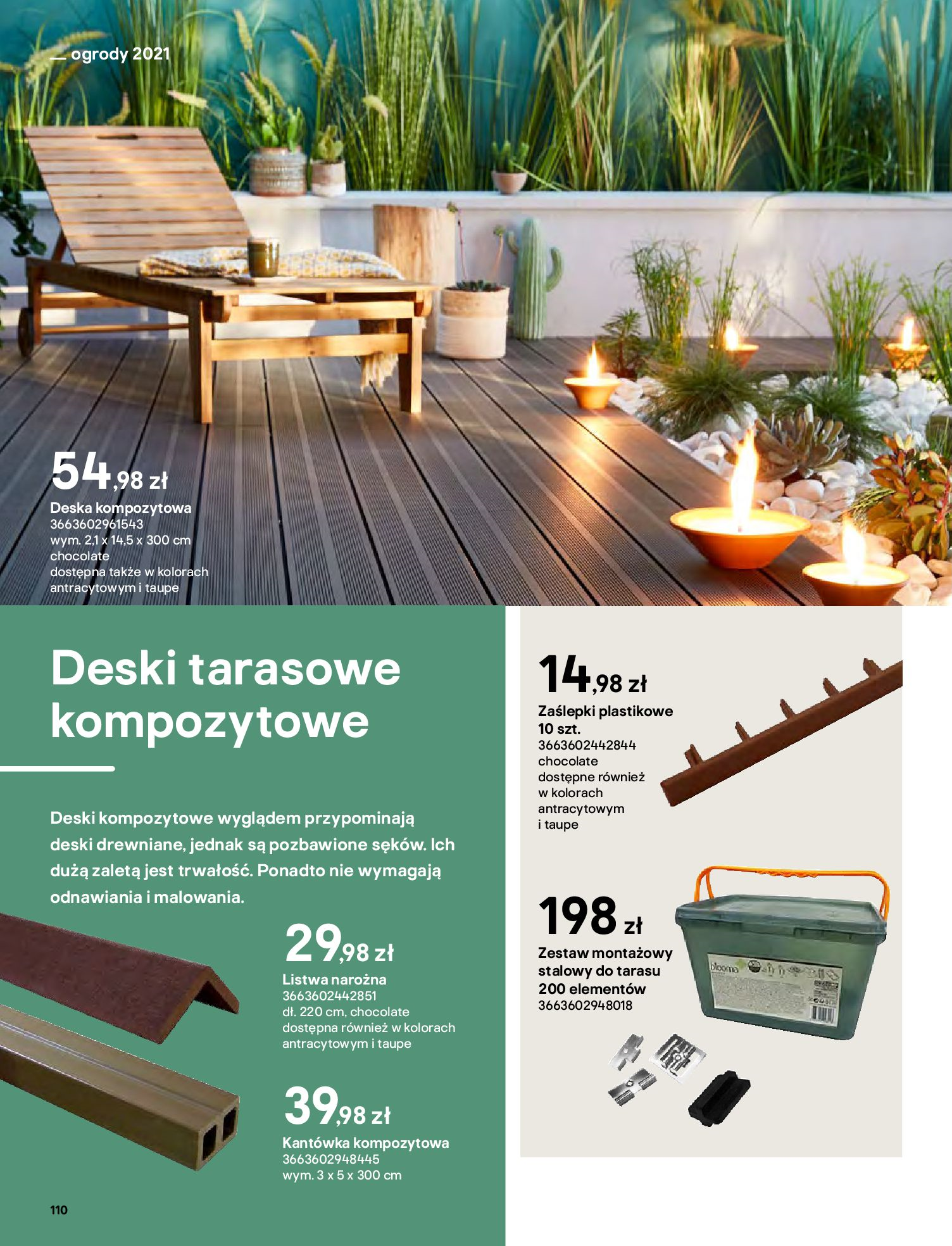 Gazetka Castorama: Katalog ogrody 2021-03-01 page-110