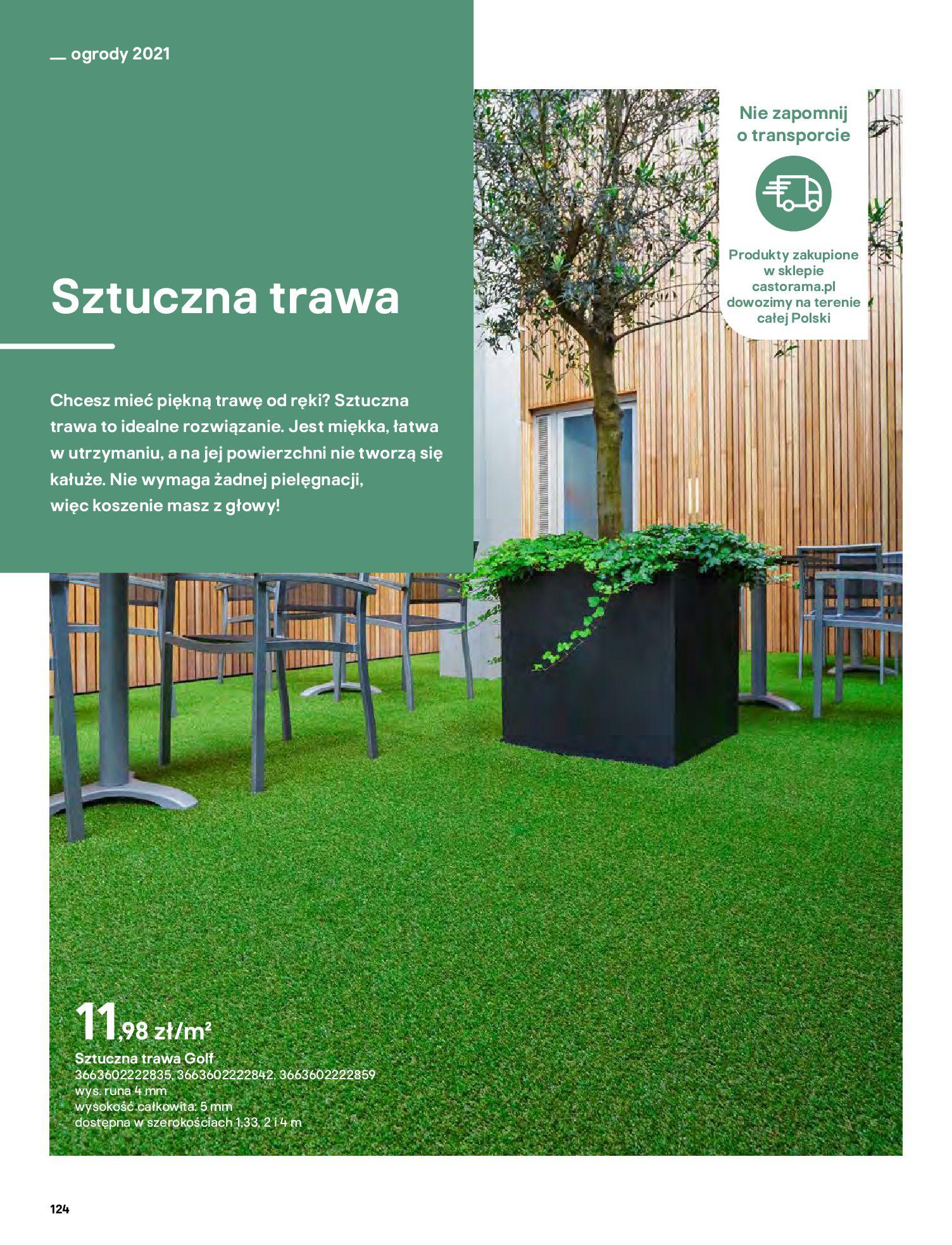 Gazetka Castorama: Katalog ogrody 2021-03-01 page-124