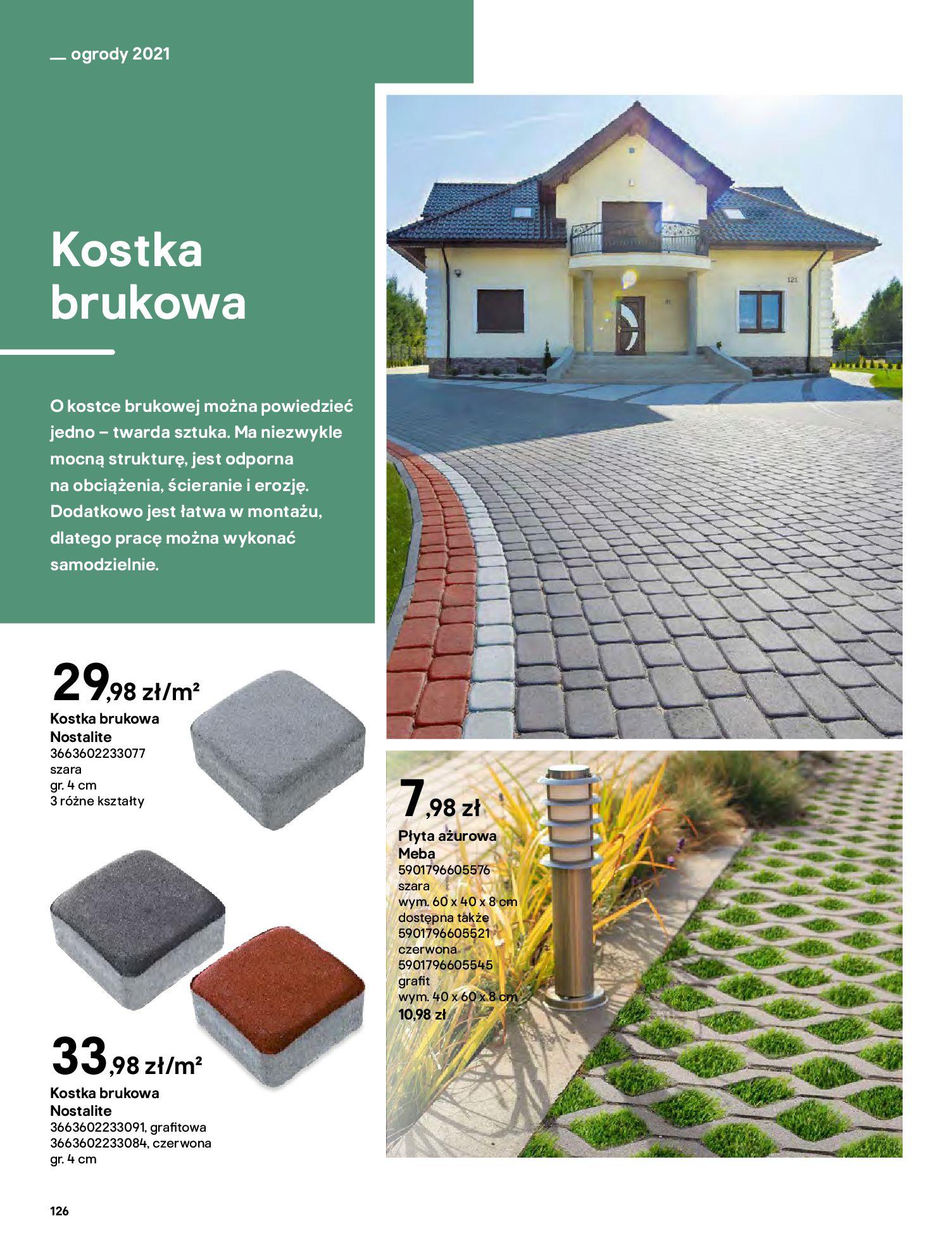 Gazetka Castorama: Katalog ogrody 2021-03-01 page-126