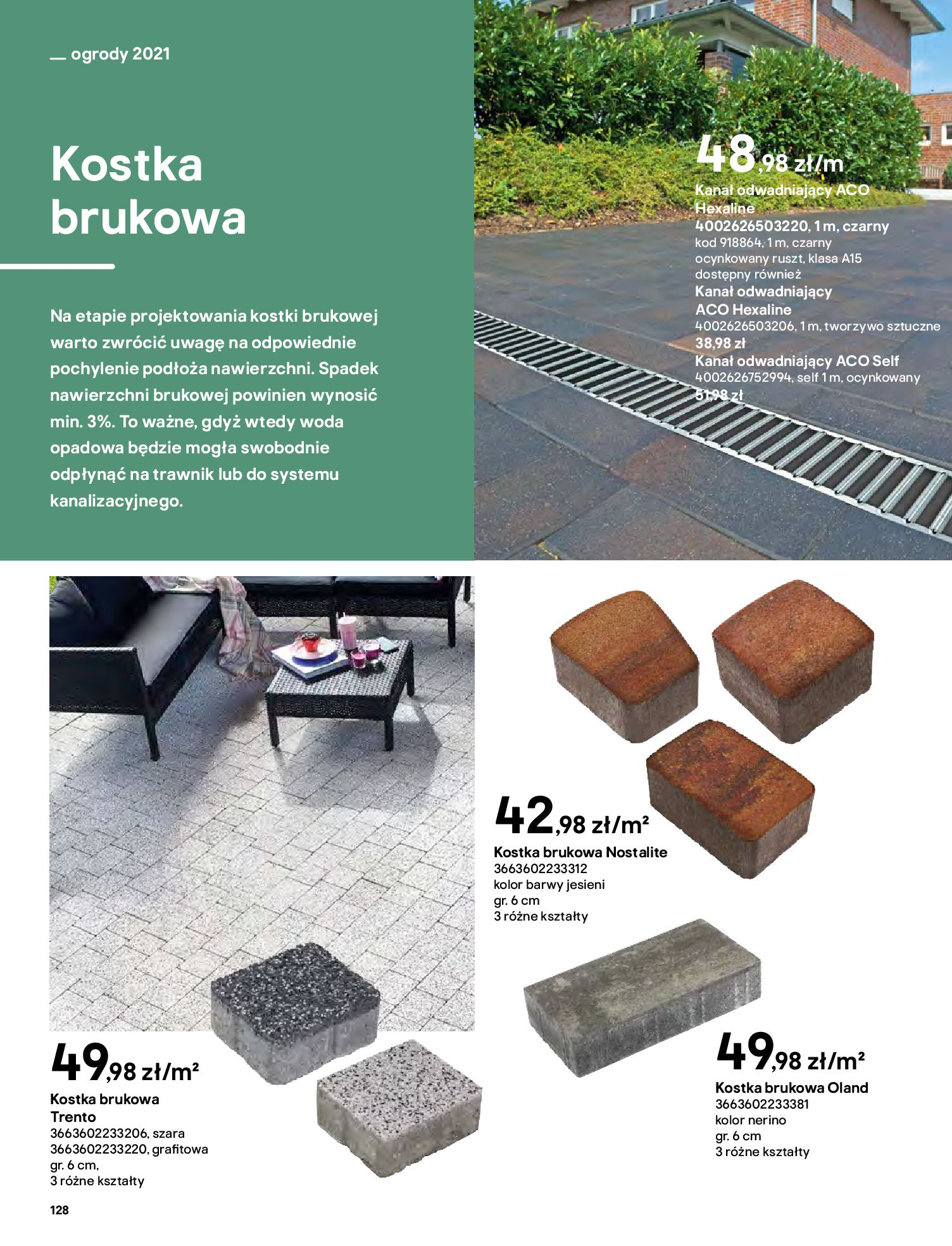 Gazetka Castorama: Katalog ogrody 2021-03-01 page-128