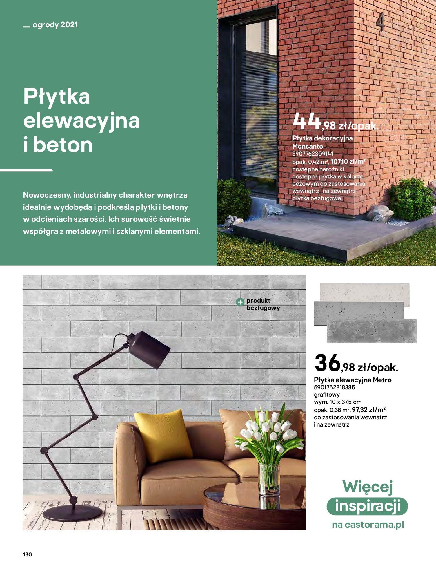 Gazetka Castorama: Katalog ogrody 2021-03-01 page-130