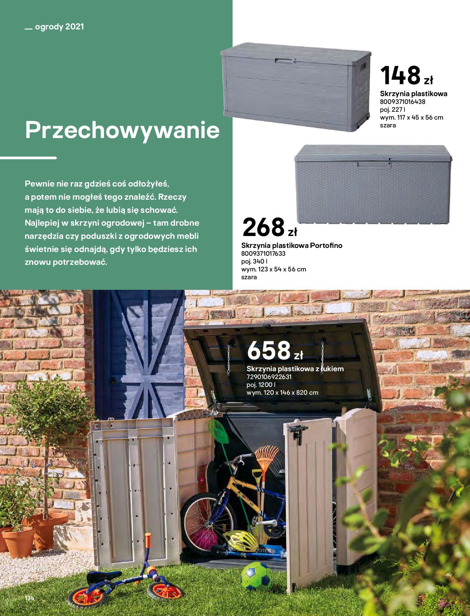 Gazetka Castorama: Katalog ogrody 2021-03-01 page-134