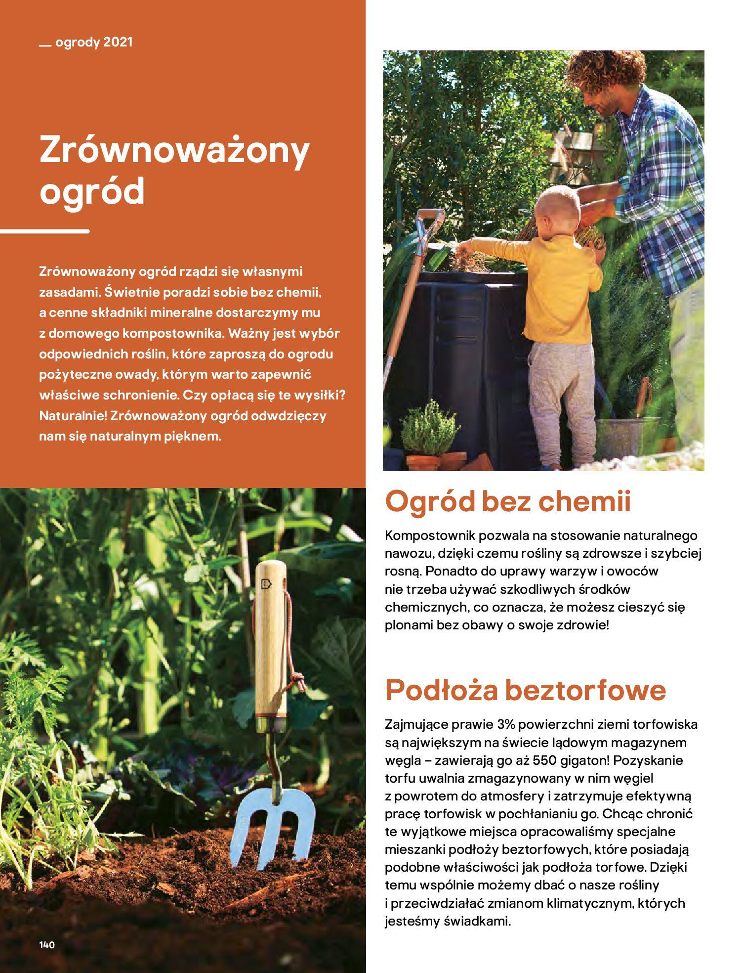 Gazetka Castorama: Katalog ogrody 2021-03-01 page-140