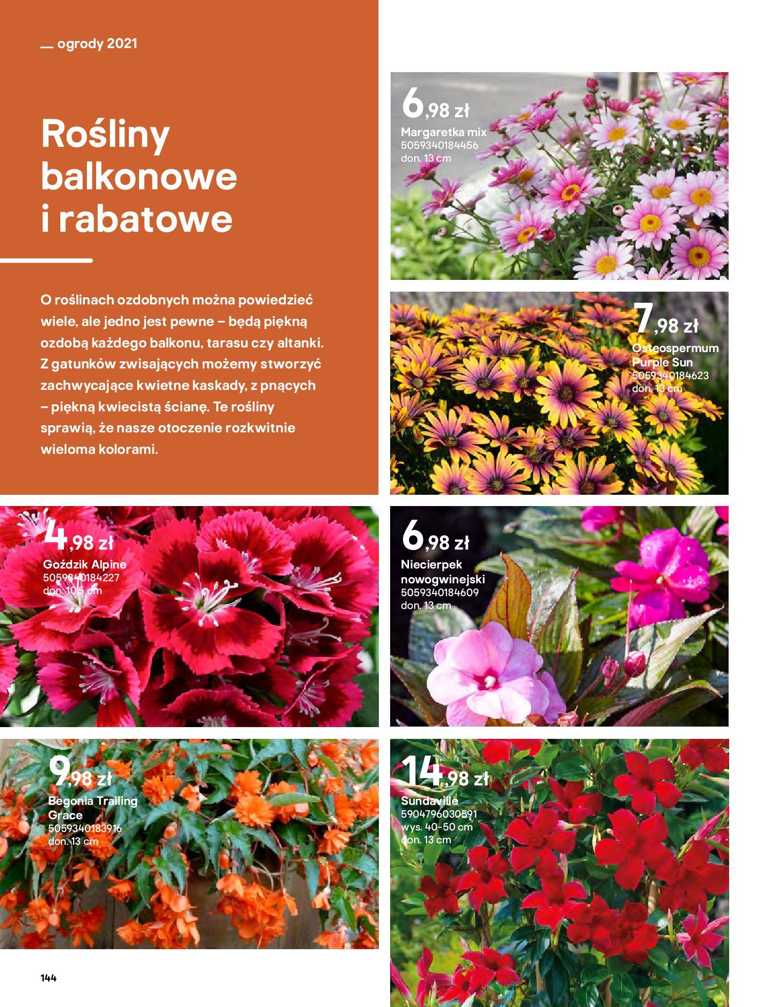 Gazetka Castorama: Katalog ogrody 2021-03-01 page-144