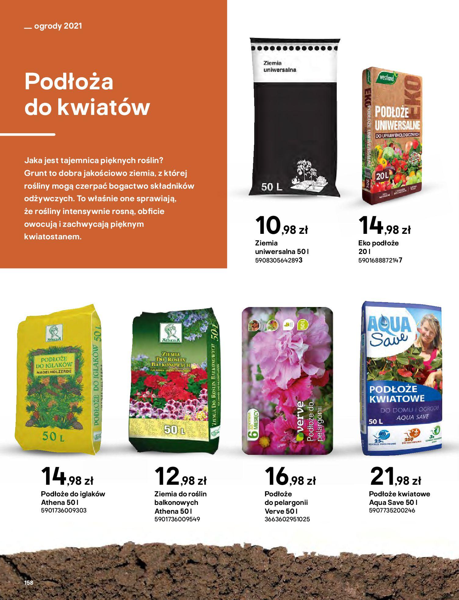 Gazetka Castorama: Katalog ogrody 2021-03-01 page-158
