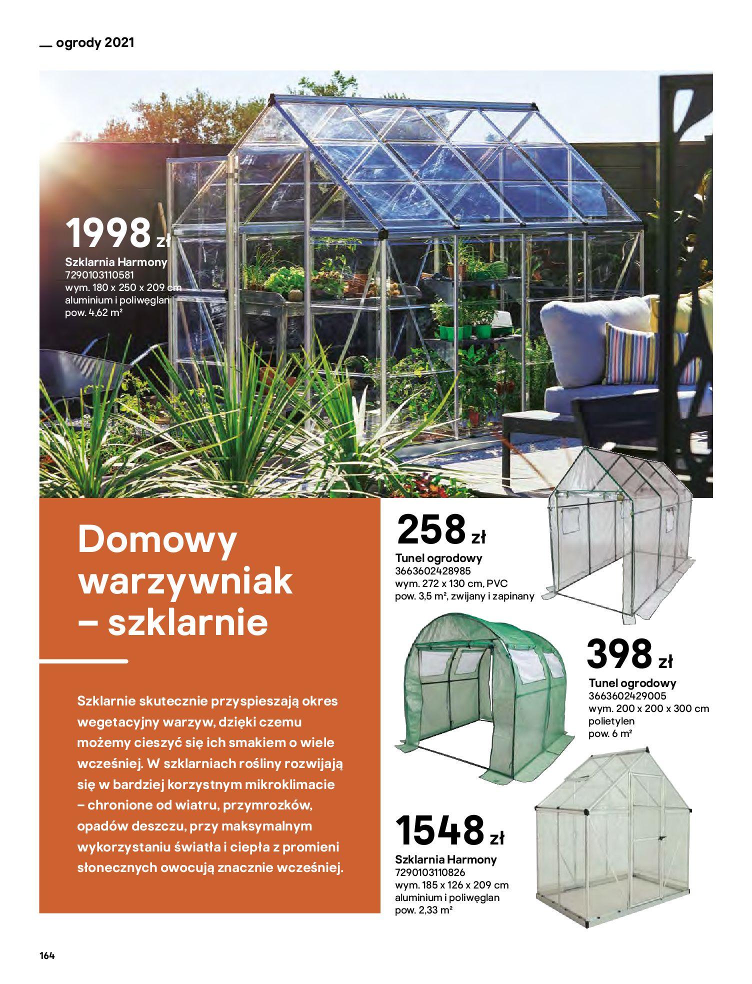 Gazetka Castorama: Katalog ogrody 2021-03-01 page-164