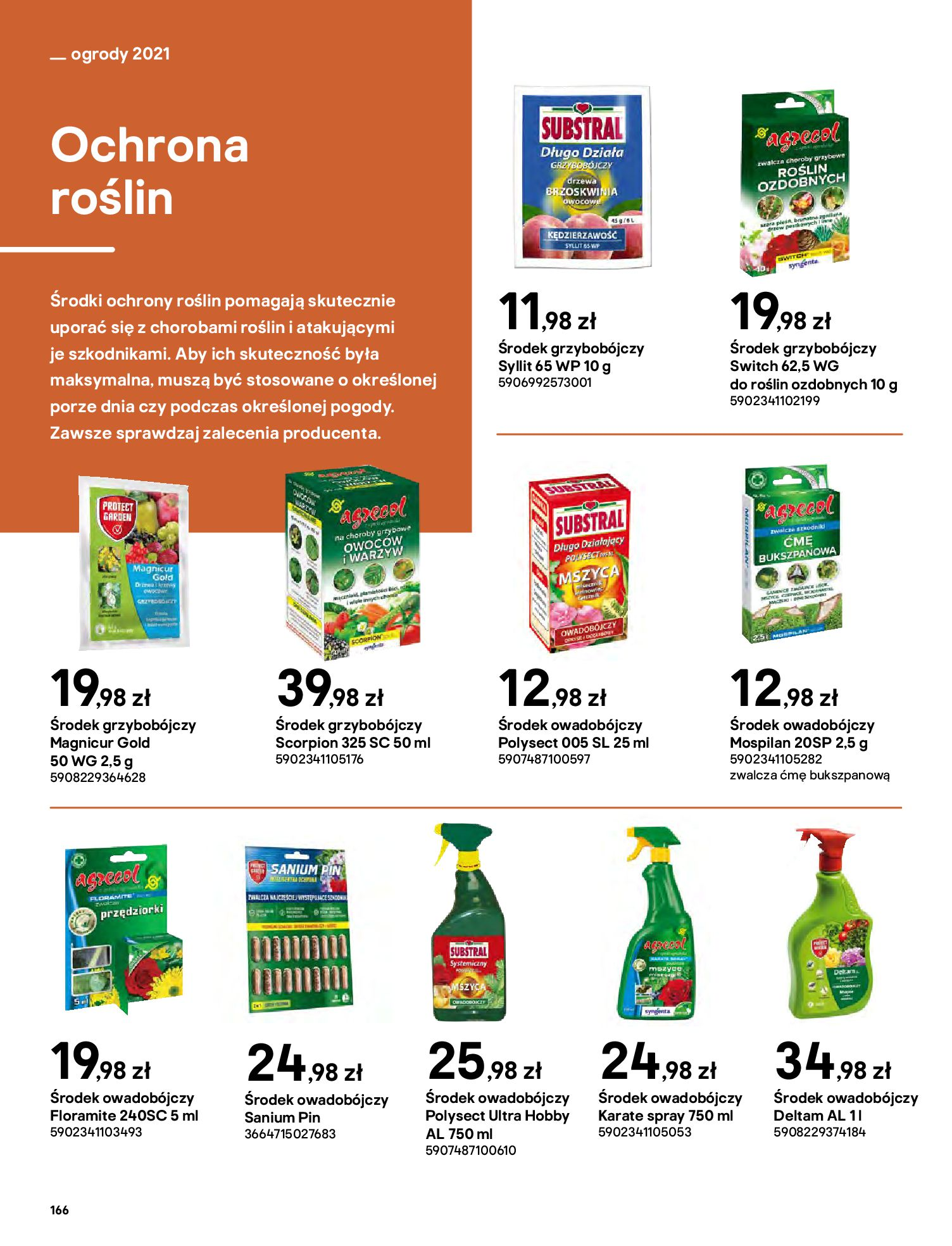 Gazetka Castorama: Katalog ogrody 2021-03-01 page-166