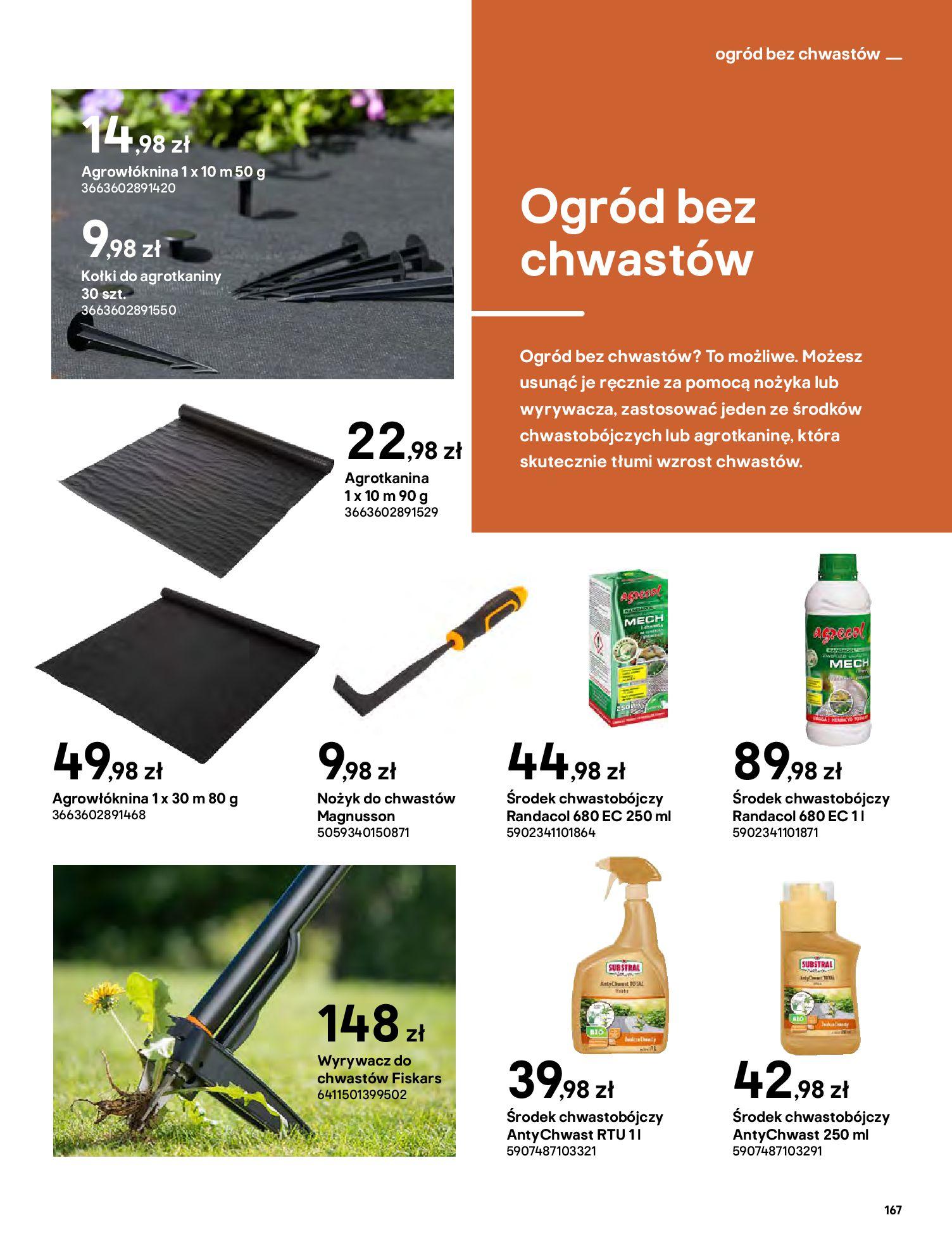 Gazetka Castorama: Katalog ogrody 2021-03-01 page-167