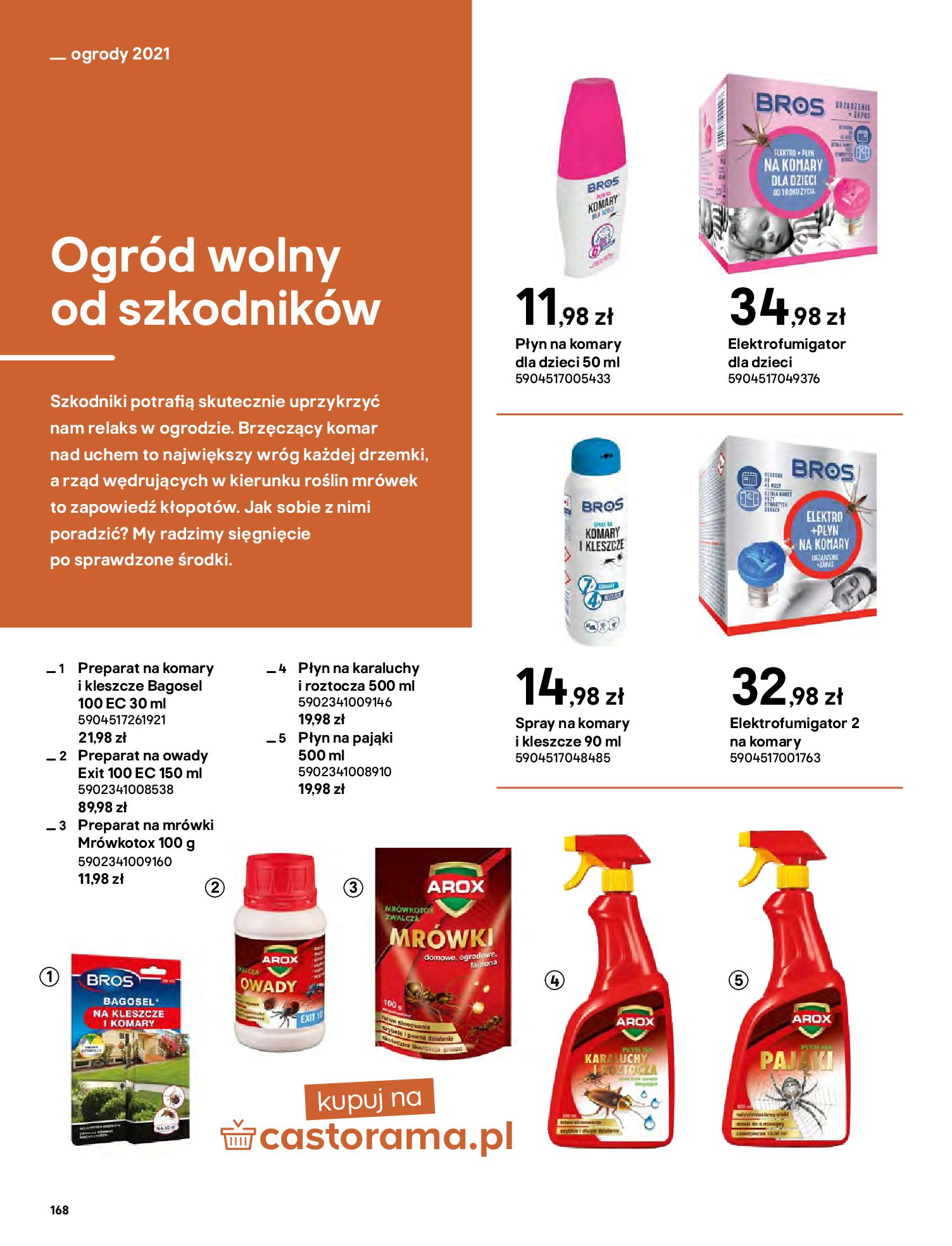 Gazetka Castorama: Katalog ogrody 2021-03-01 page-168
