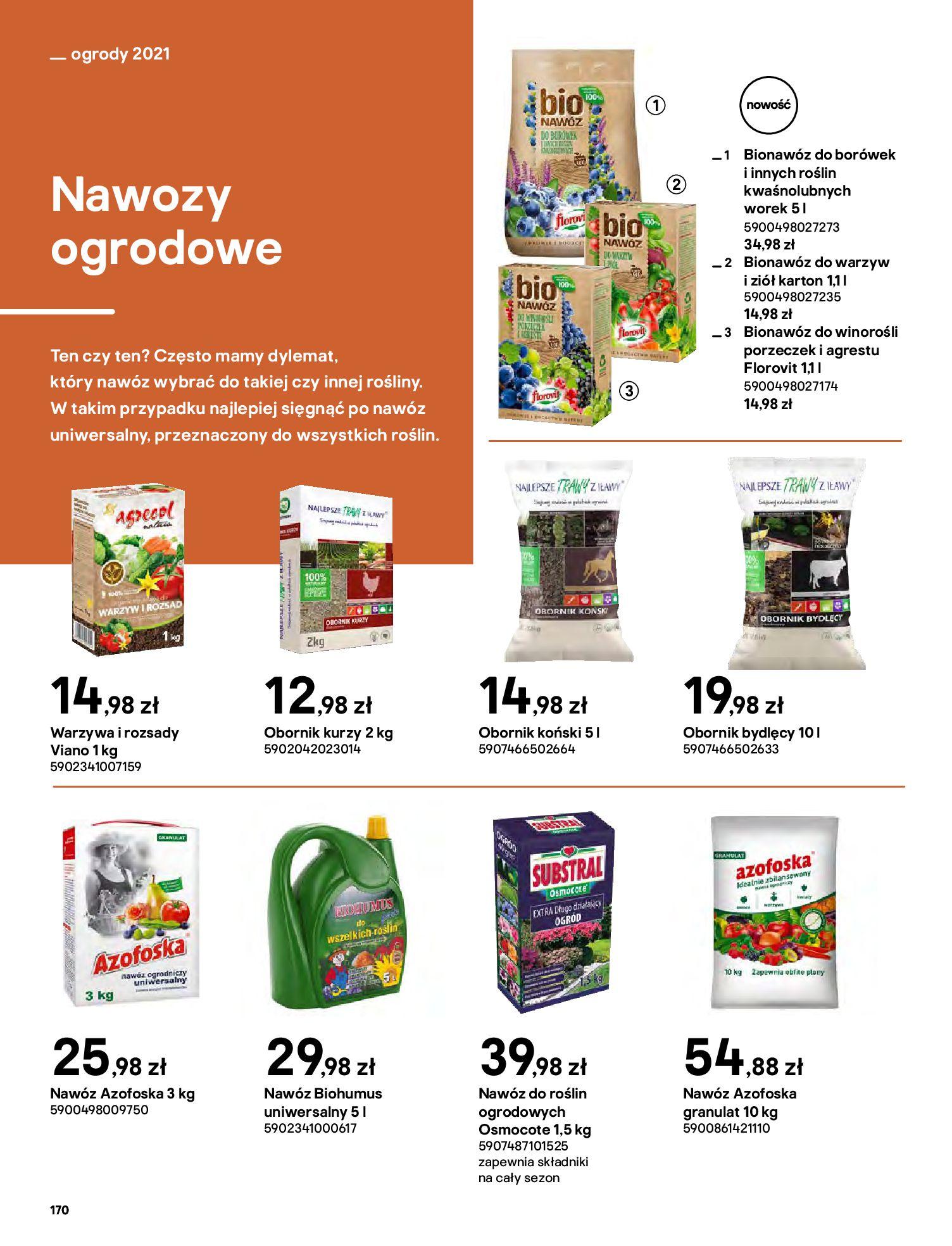 Gazetka Castorama: Katalog ogrody 2021-03-01 page-170