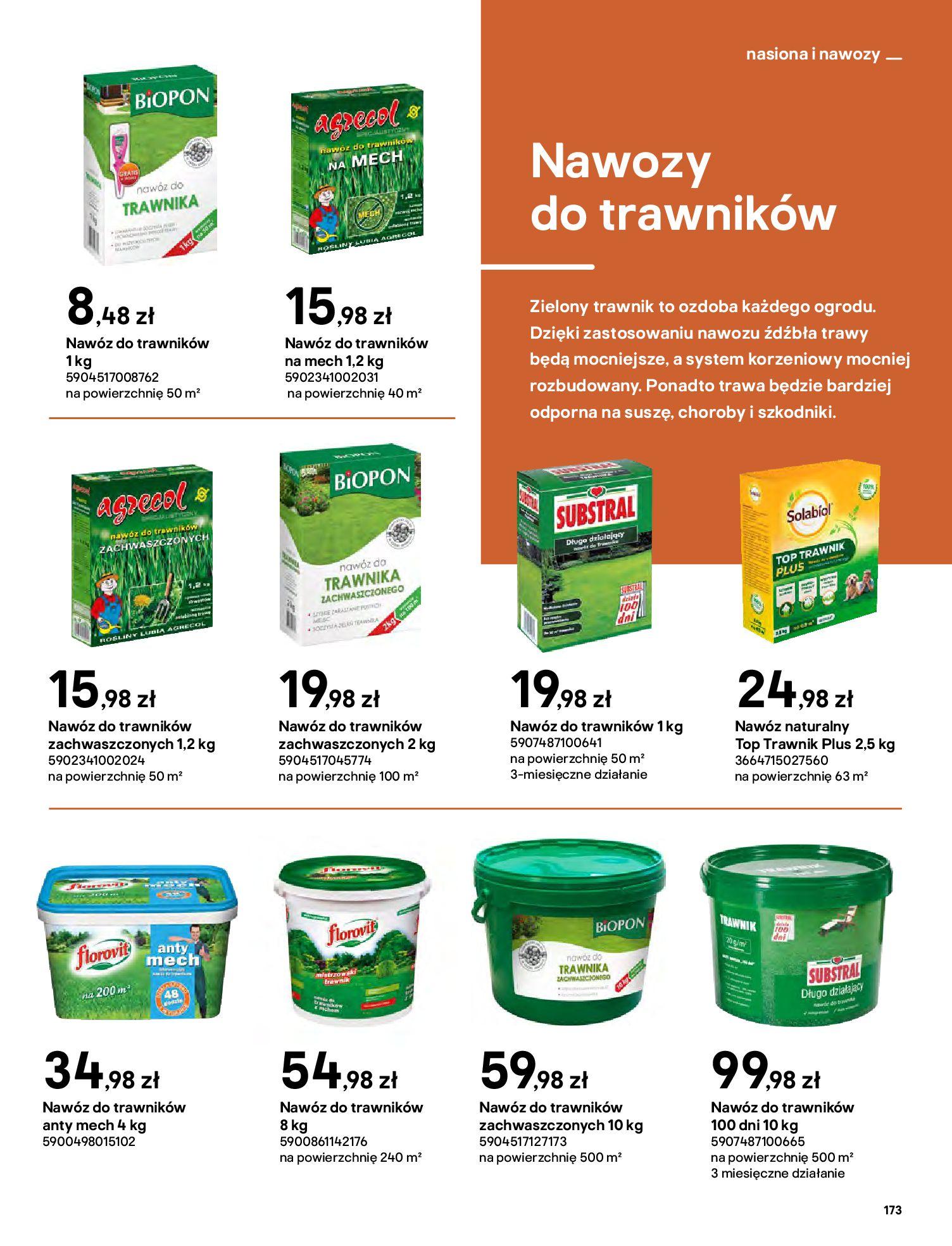 Gazetka Castorama: Katalog ogrody 2021-03-01 page-173