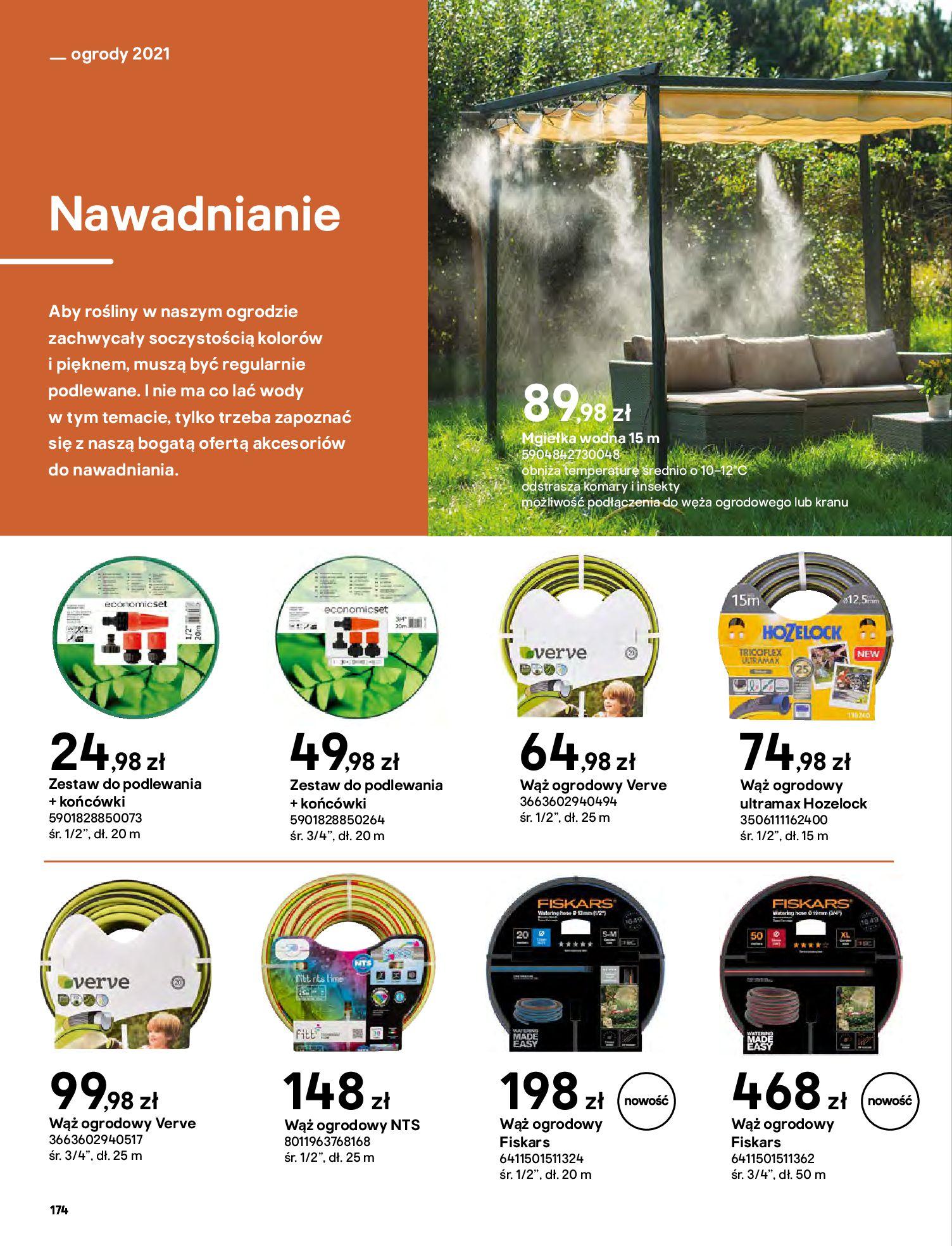 Gazetka Castorama: Katalog ogrody 2021-03-01 page-174