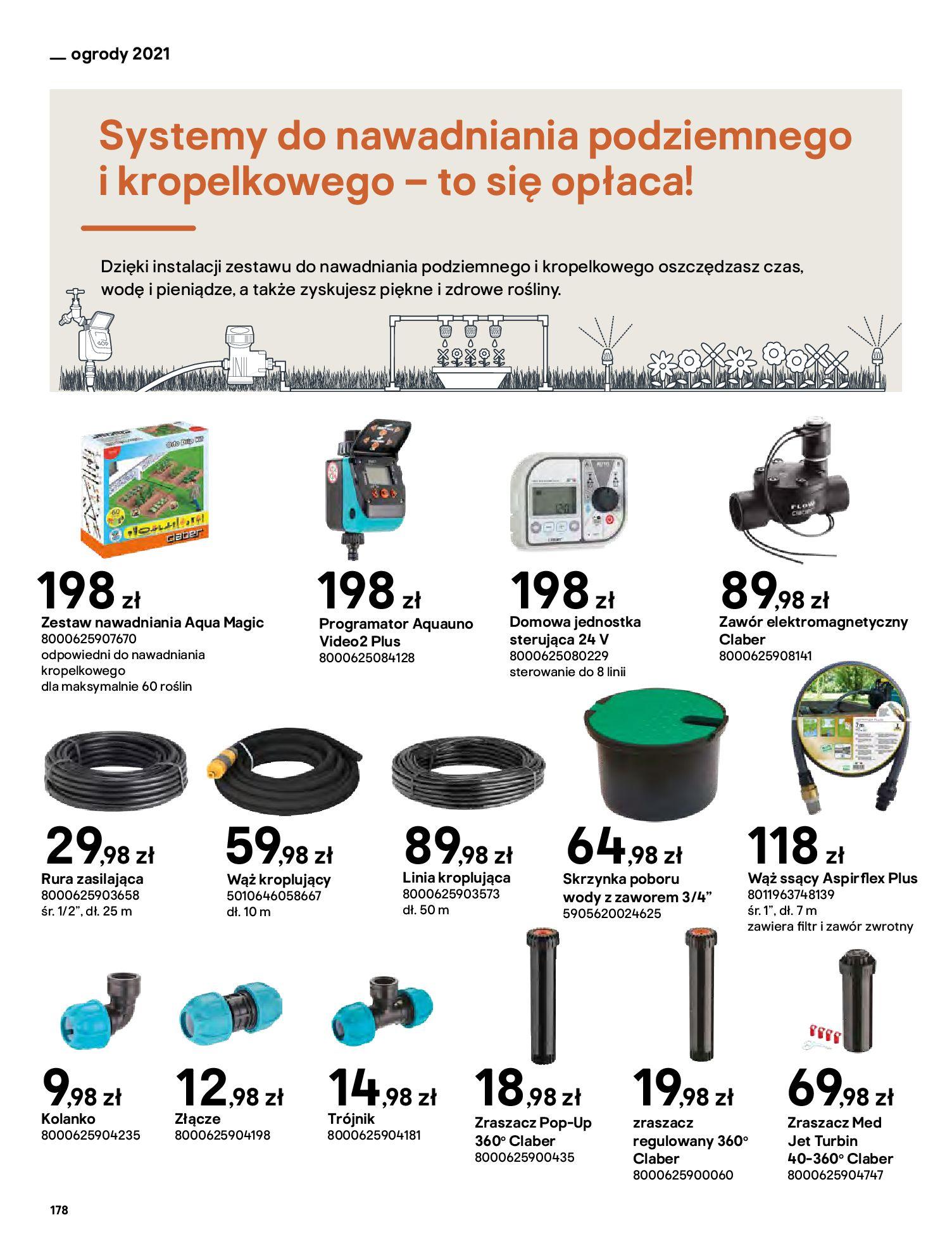 Gazetka Castorama: Katalog ogrody 2021-03-01 page-178