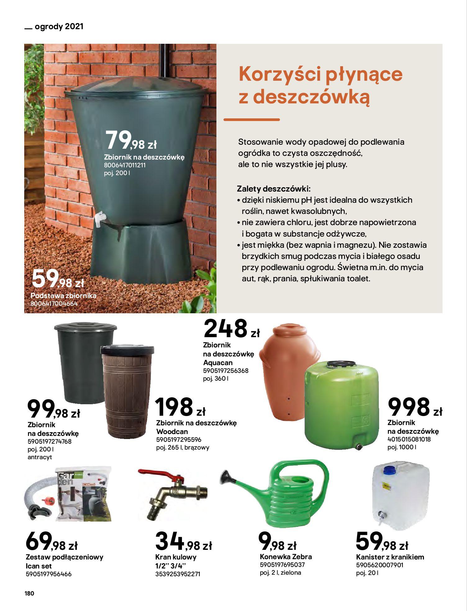 Gazetka Castorama: Katalog ogrody 2021-03-01 page-180