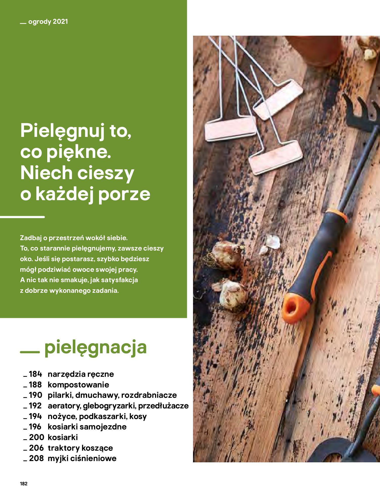Gazetka Castorama: Katalog ogrody 2021-03-01 page-182