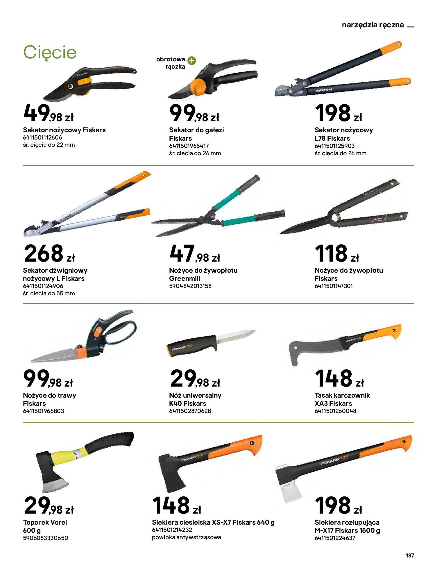 Gazetka Castorama: Katalog ogrody 2021-03-01 page-187