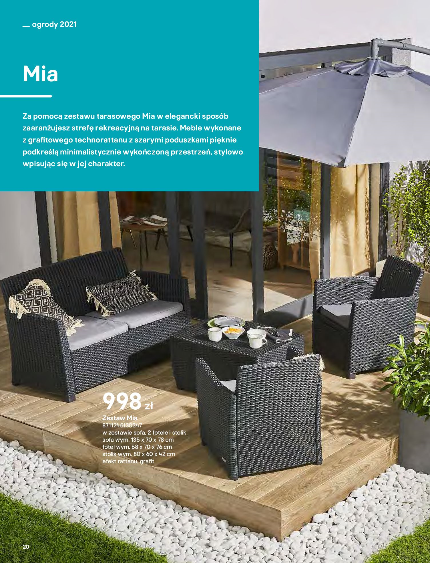 Gazetka Castorama: Katalog ogrody 2021-03-01 page-20