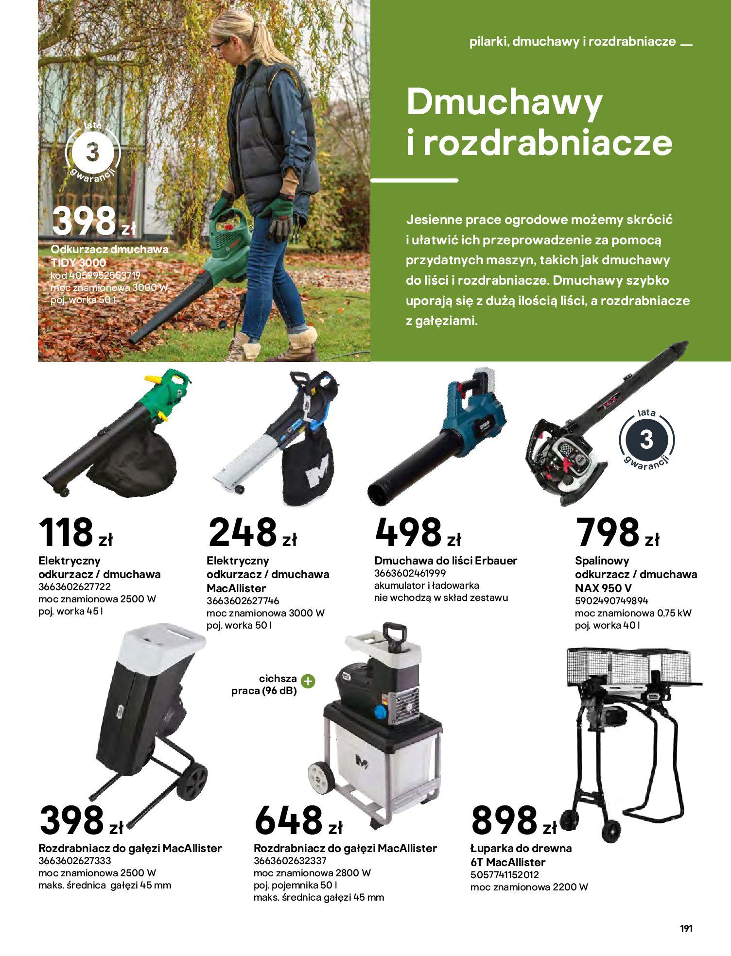 Gazetka Castorama: Katalog ogrody 2021-03-01 page-191